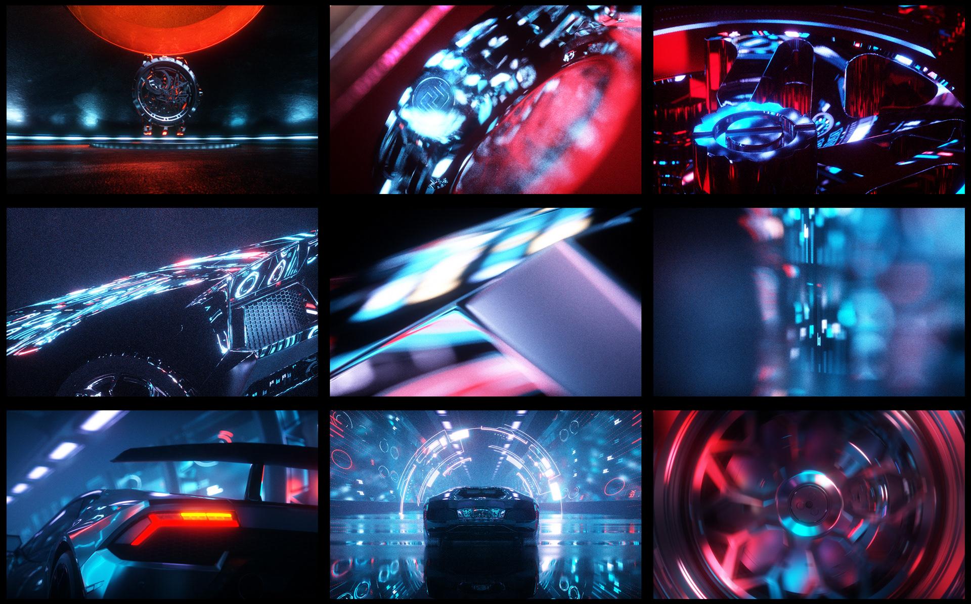 Motion Design: Roger Dubuis x Lamborghini