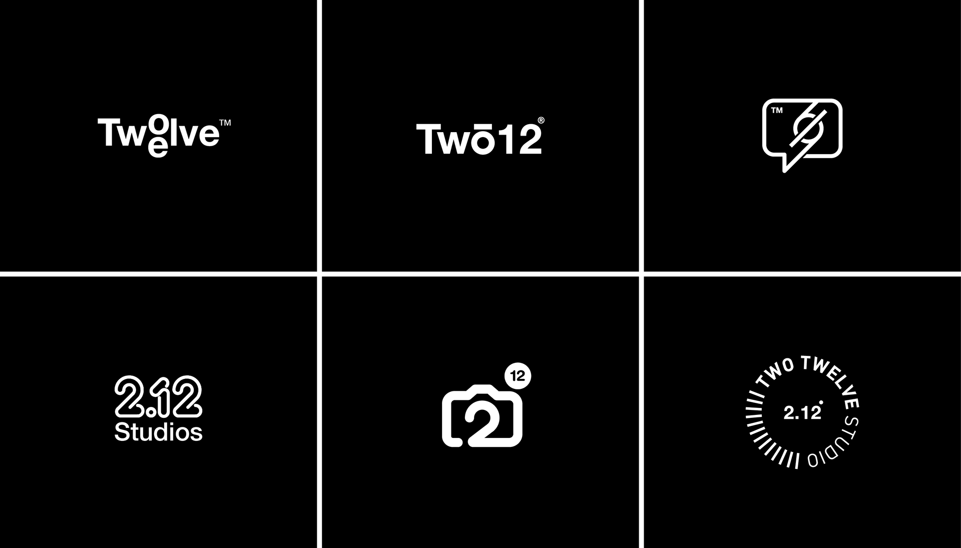 Branding & Visual Identity: Two12 Studios
