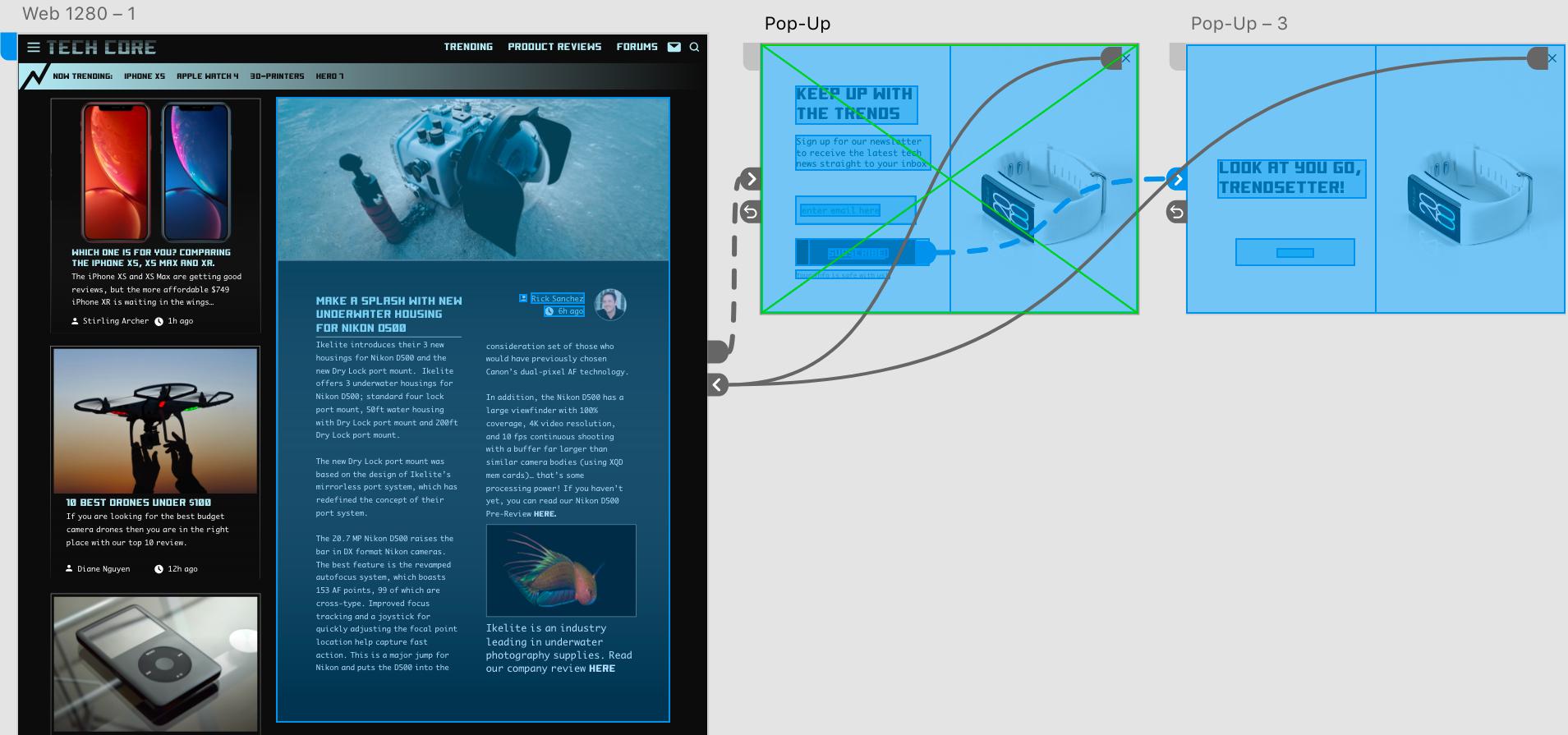 Techcore Web