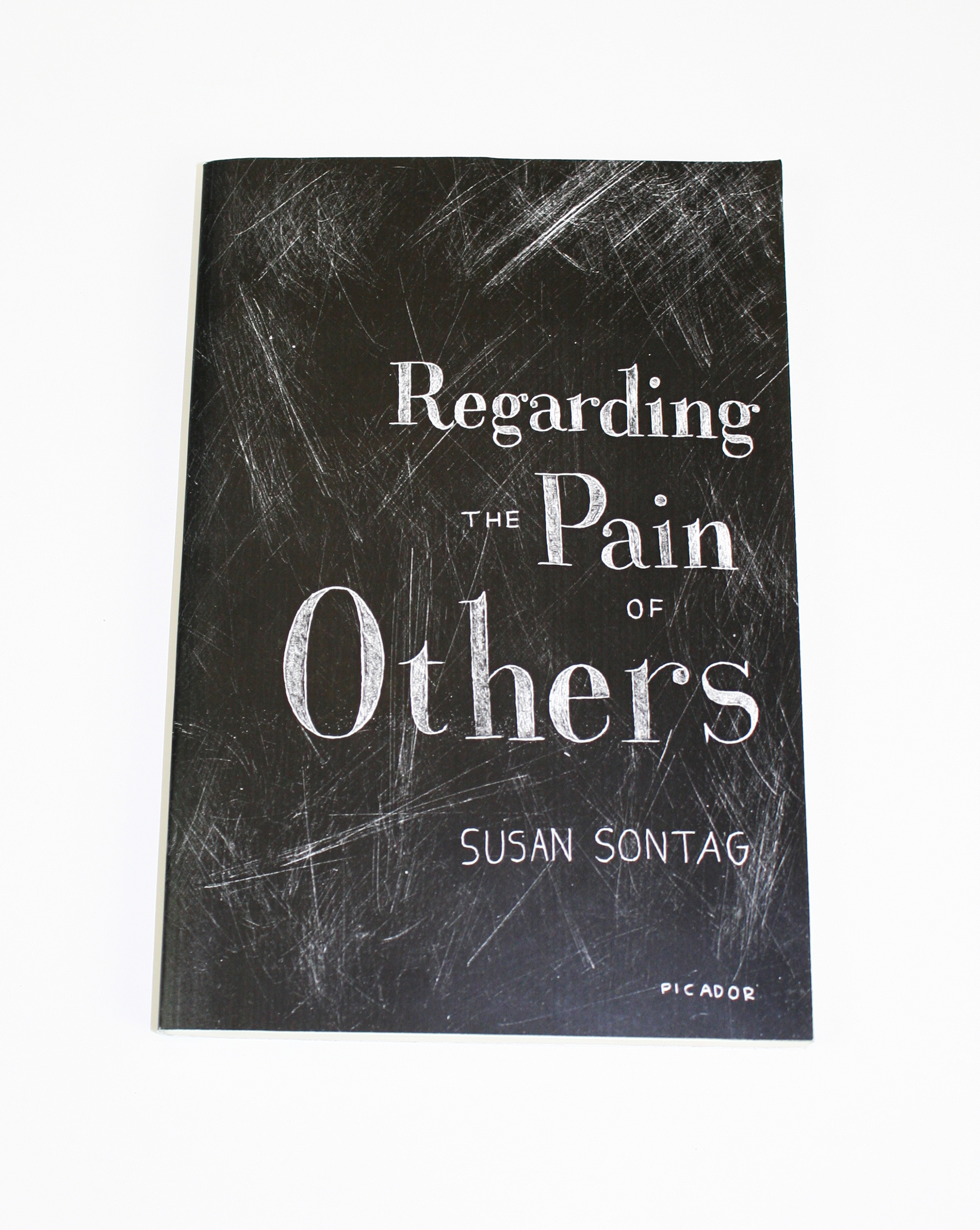 Regarding Pain Of Others >> Regarding The Pain Of Others Book Cover Redesign On Behance