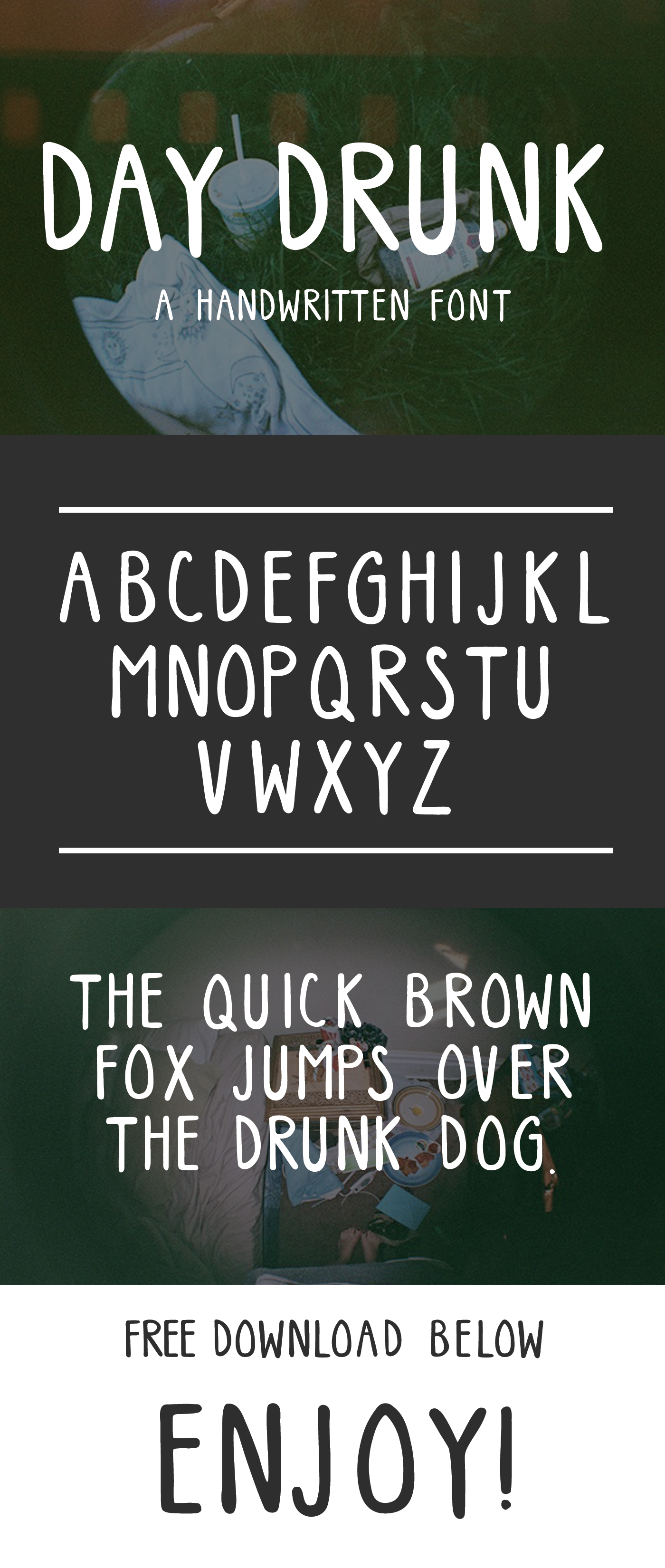 Its An All Caps Font Because Drunk People Especially Day Never Ever Talk Quietly Is Loud In Your Face Wiggly And Fun
