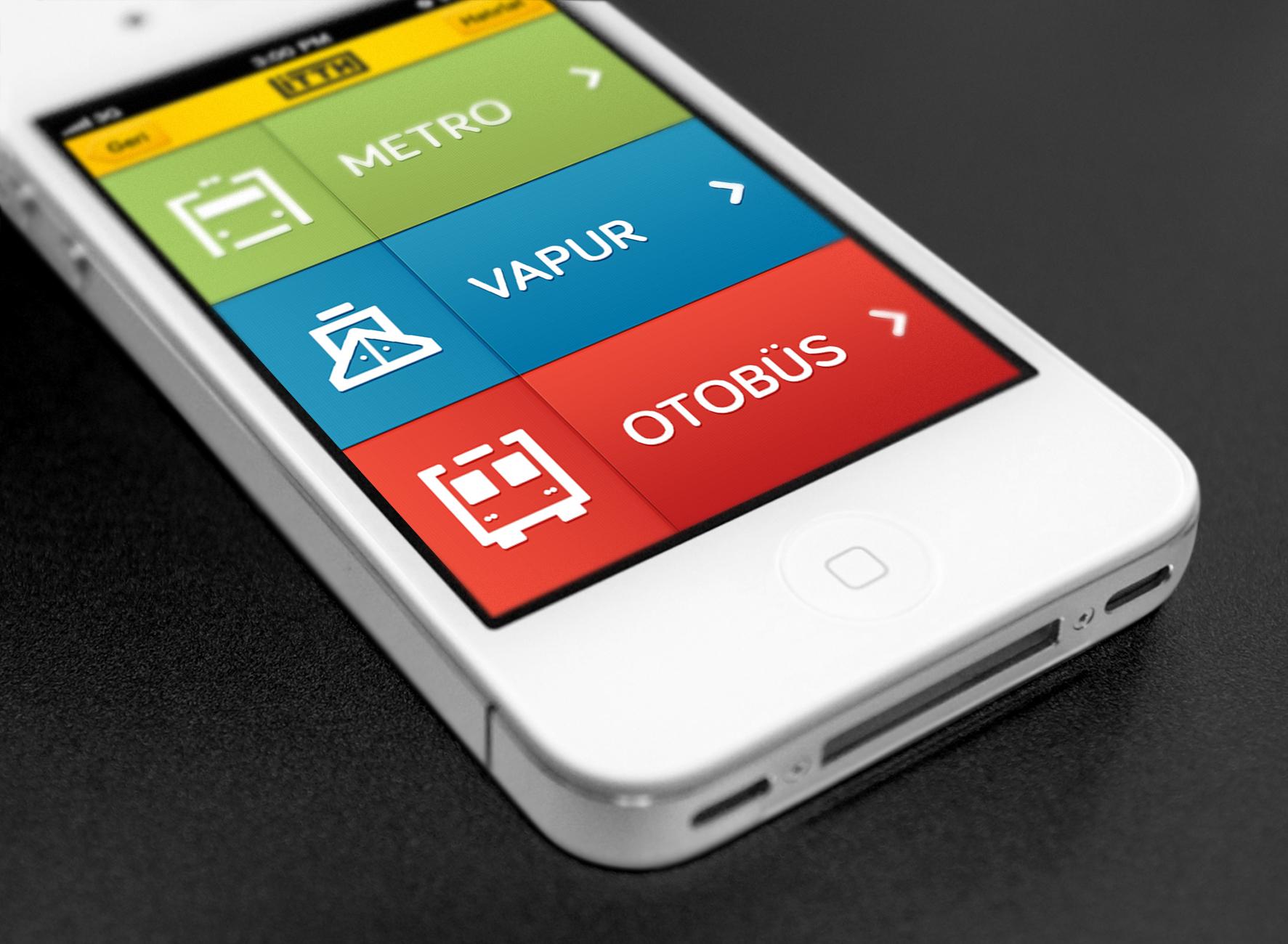 Public Transportation iPhone App on Behance