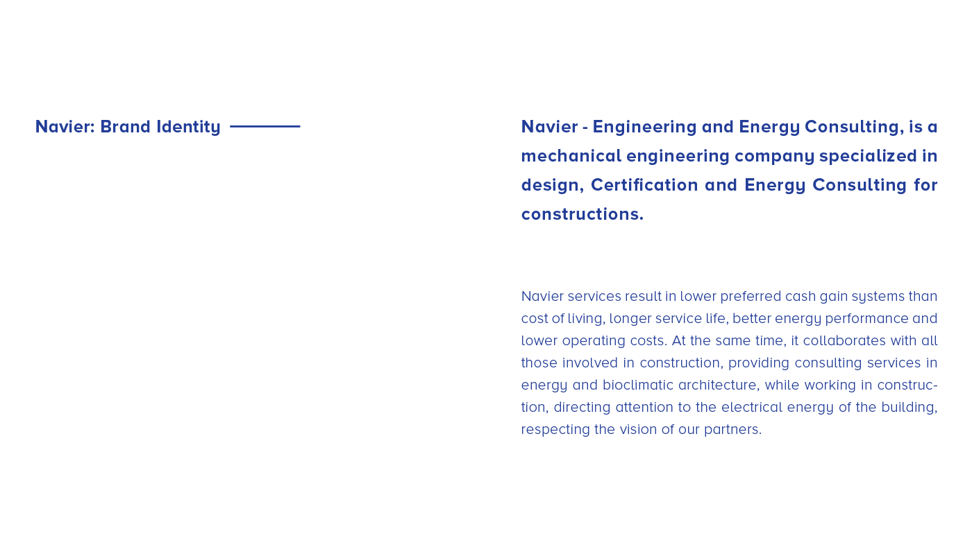 Navier — Engineering and Energy Consulting on Behance
