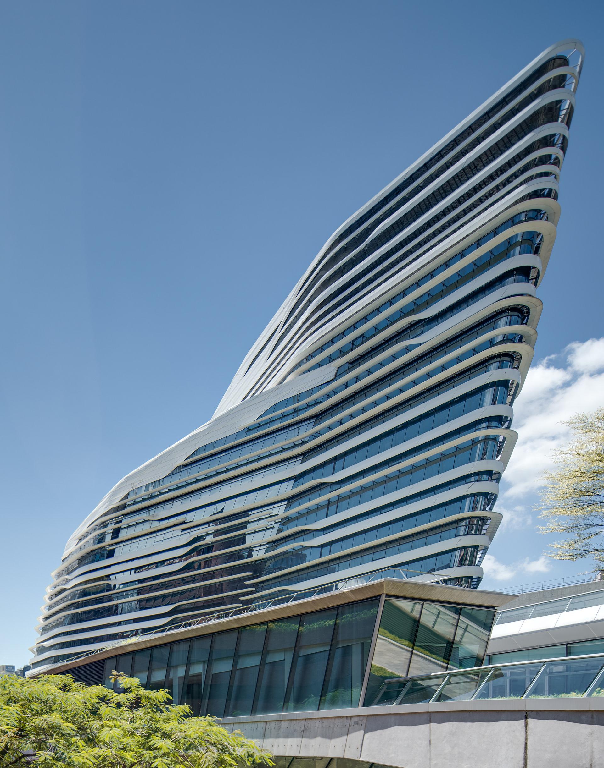 Zaha Hadid Architect's Amazingness Innovation Tower - Architecture Photography