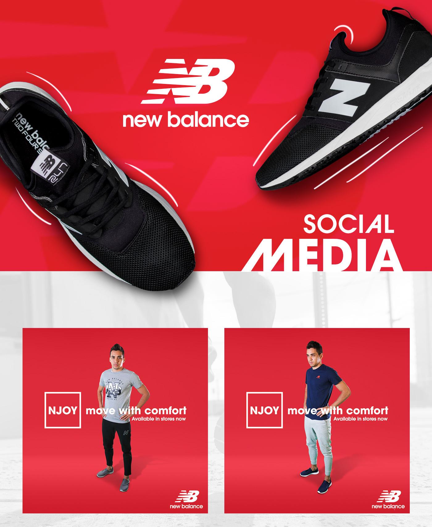 64ba7e07f7d57e New Balance GCC Social Media on Behance