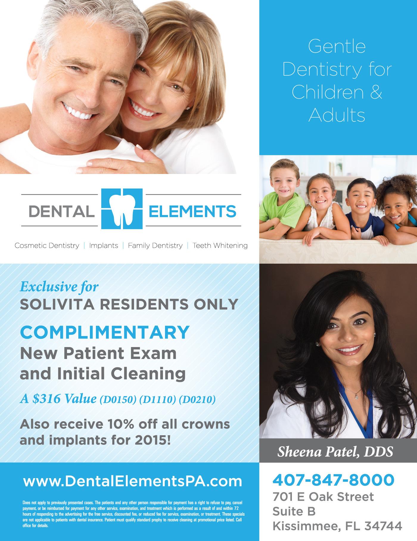 Dental Elements Magazine Advertisement