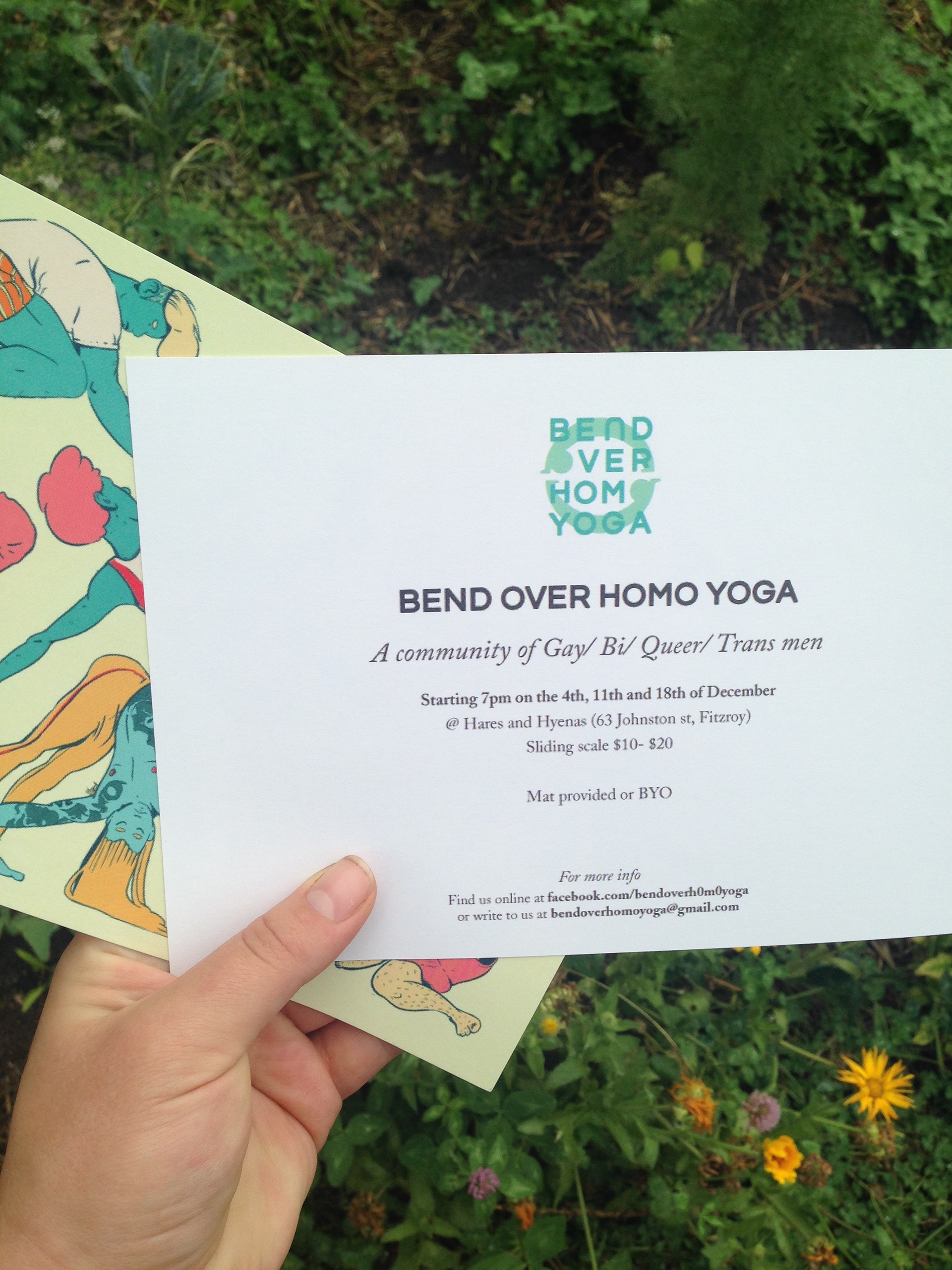 Bend Over Homo Yoga: Yoga for Men on Behance