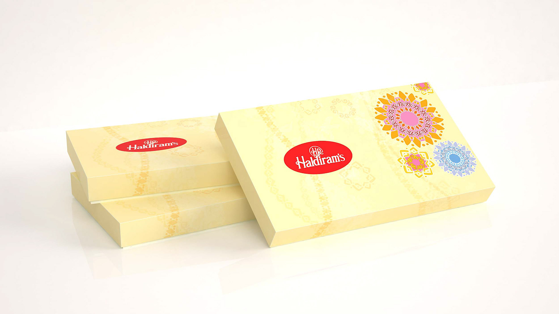 Haldiram Packaging design sweet box | traditional India on Behance