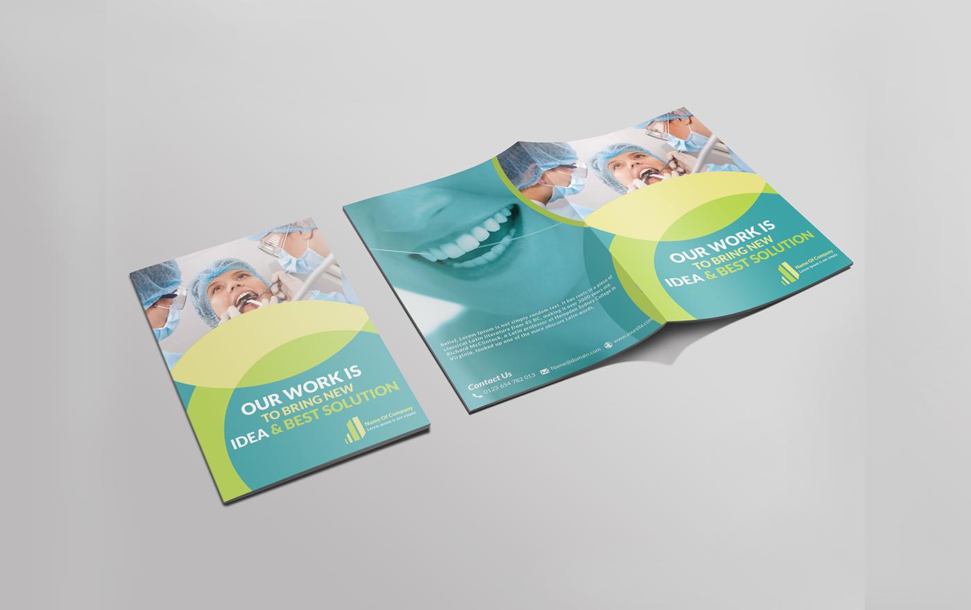 Dental Bi-Fold Brochure on Behance