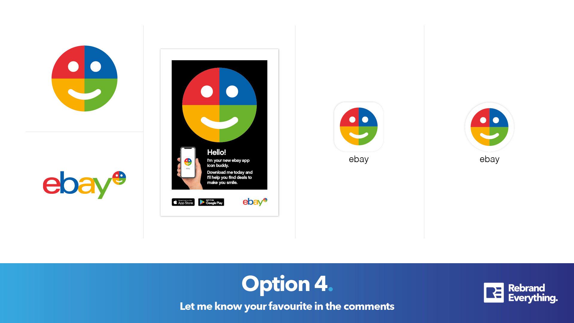 Rebrand Everything Episode 5 Ebay App Icon On Behance