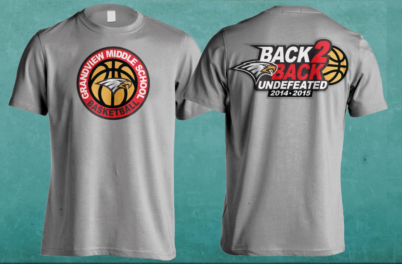 Shirt design concepts - T Shirt Design Concepts For Undefeated Season Champions