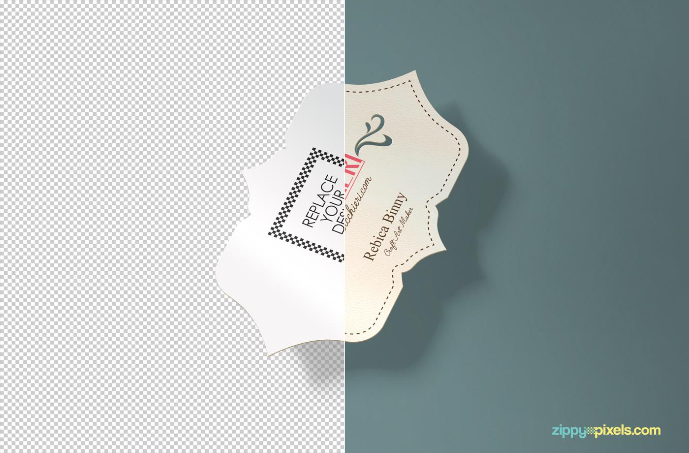 Free Creative Business Card Mockup on Behance