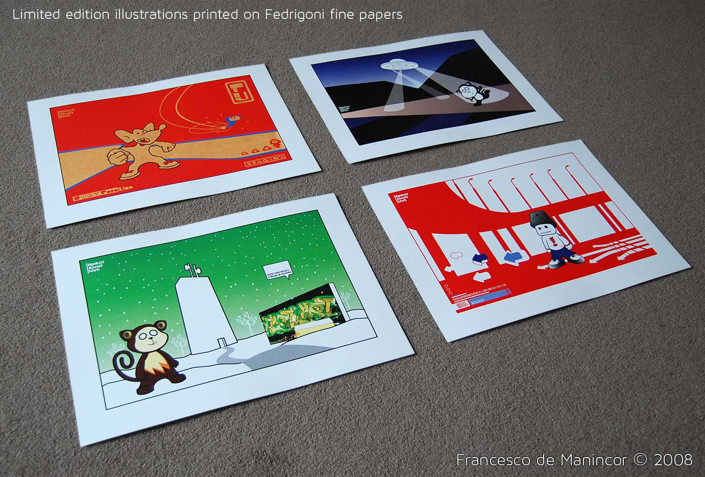 Limited edition prints on Fedrigoni fine papers