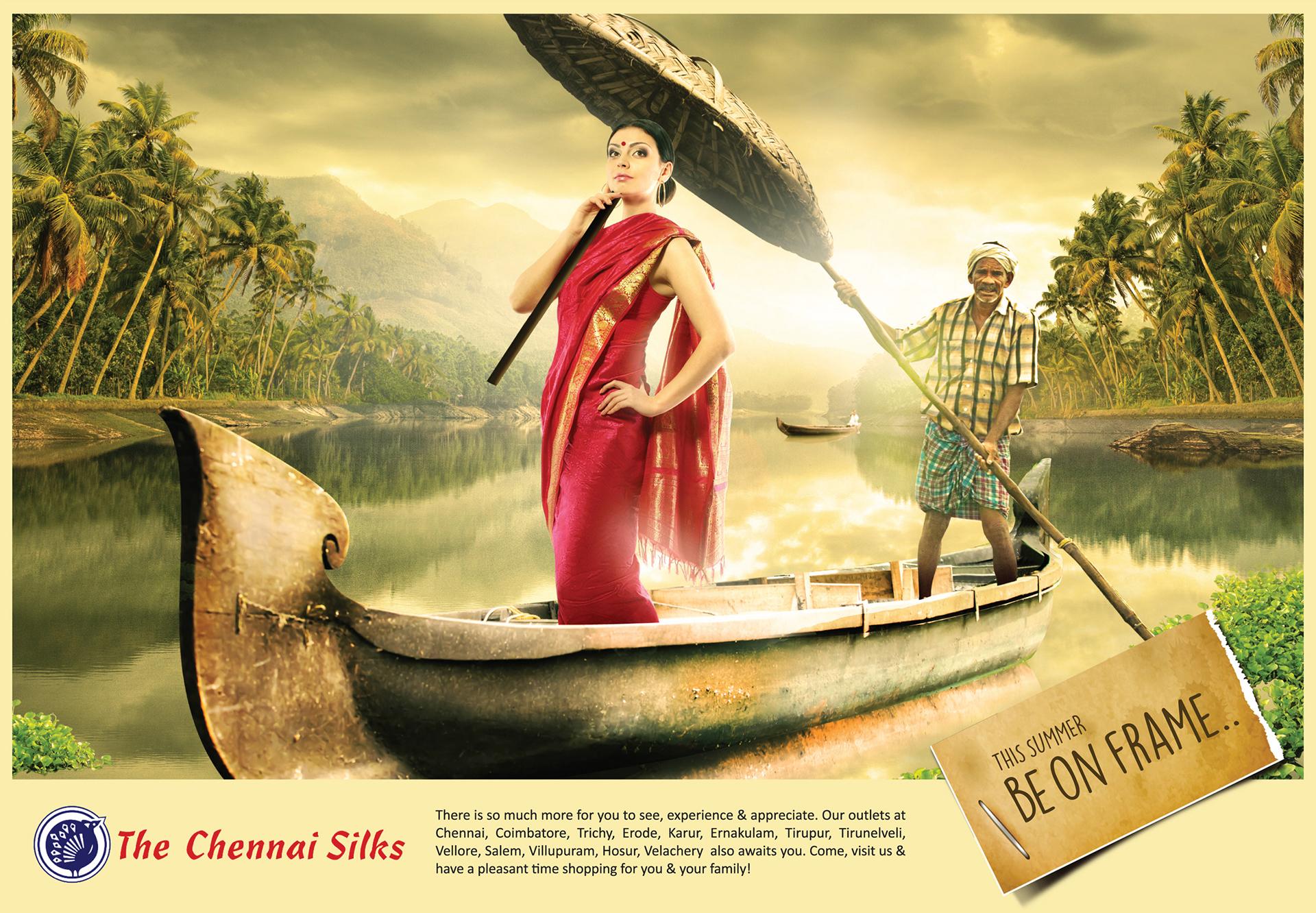 Chennai Silks Kerala Presentation Campaign on Behance