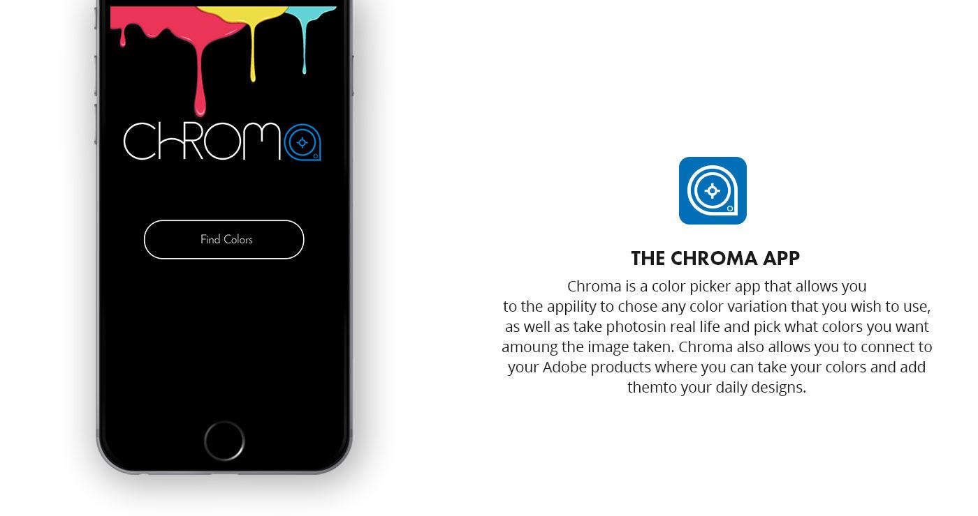 Chroma Color App on Behance