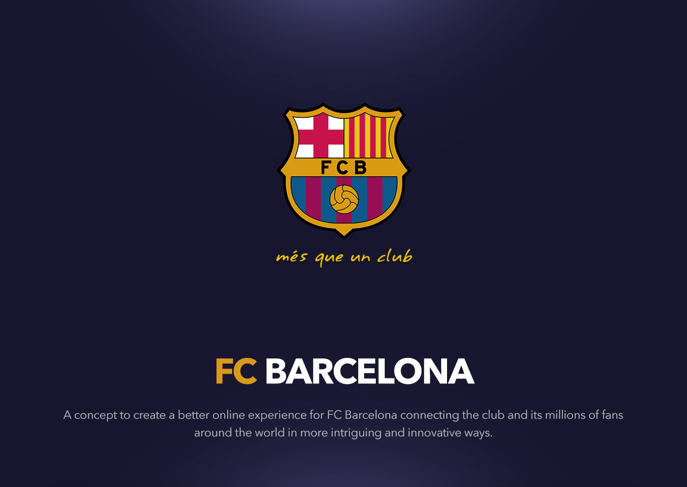 Fc barcelona on behance stopboris Choice Image