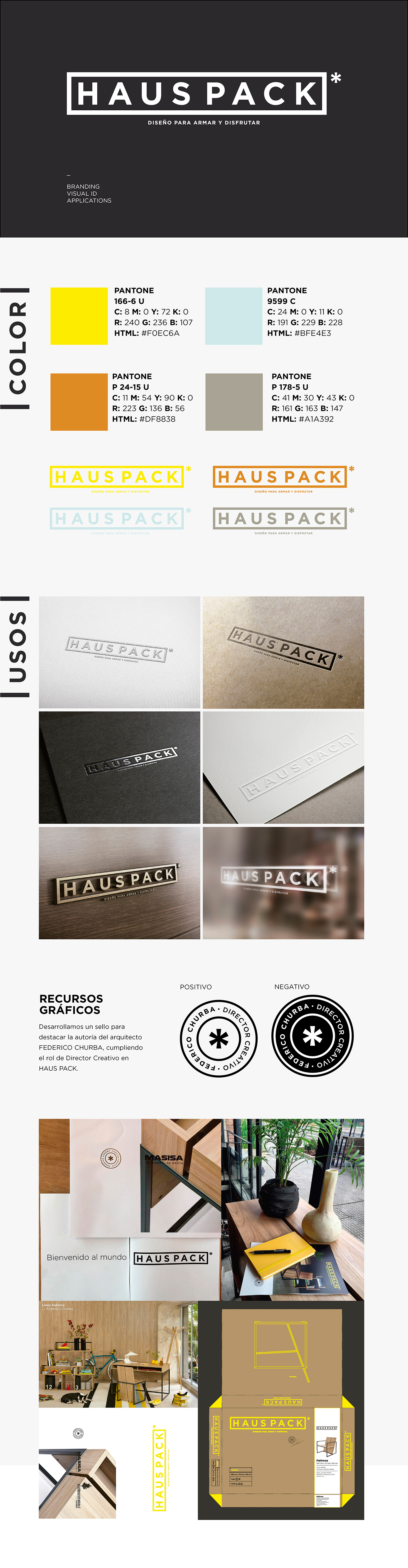 Haus Pack On Behance # Muebles Federico Churba