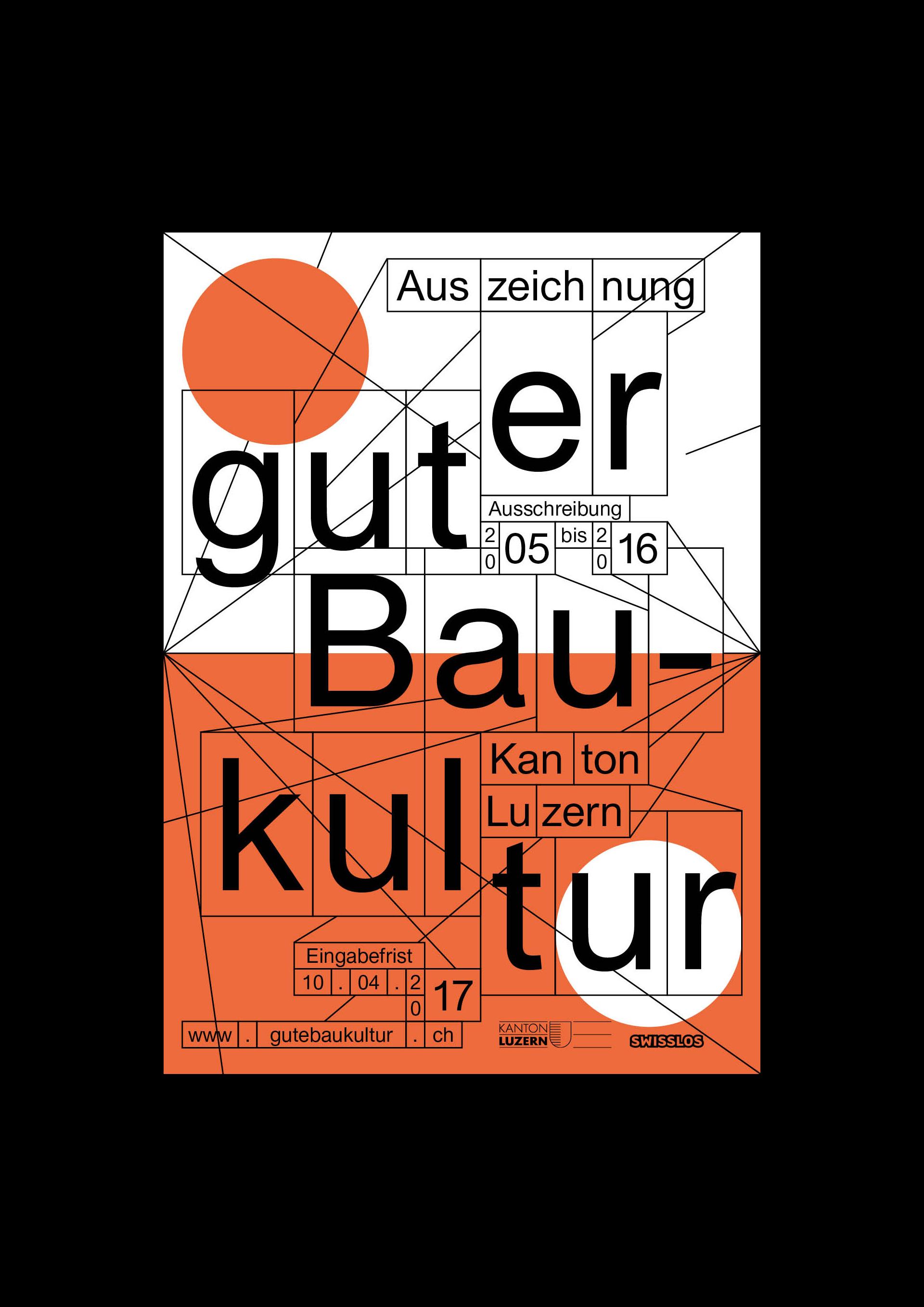Auszeichnung guter Baukultur Kanton Luzern