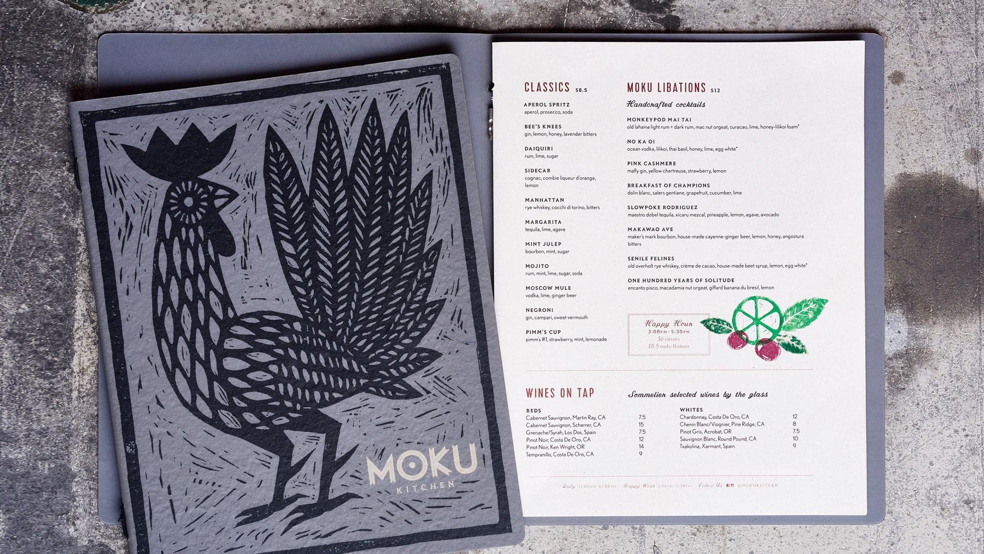 Moku Kitchen on Behance