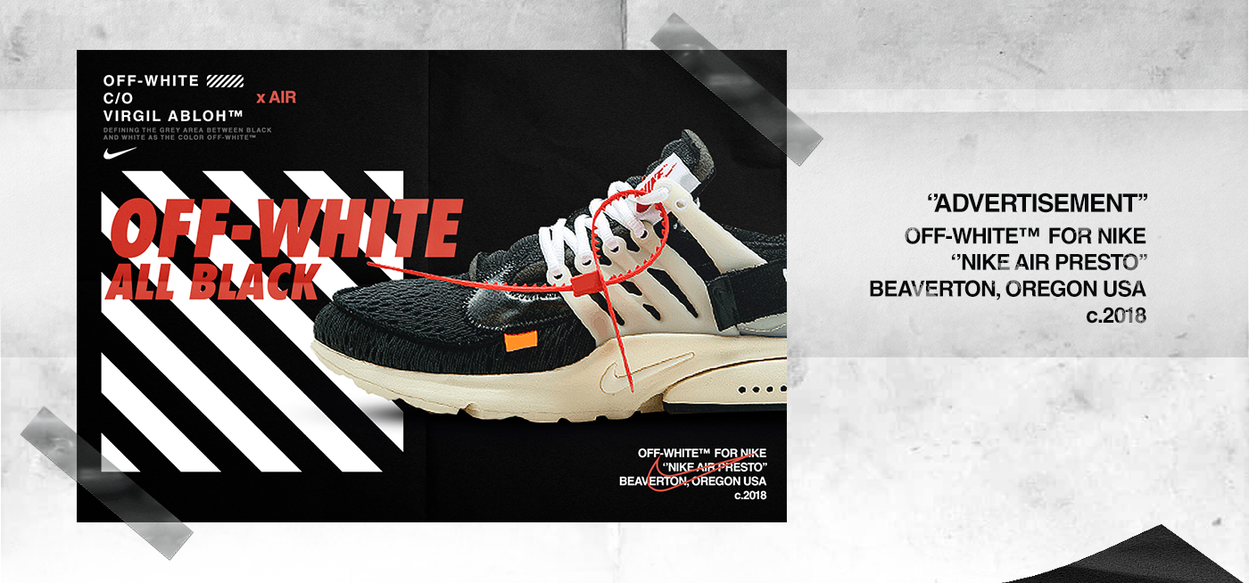 Nike X Off White Advertising Apparel Campaign On Behance