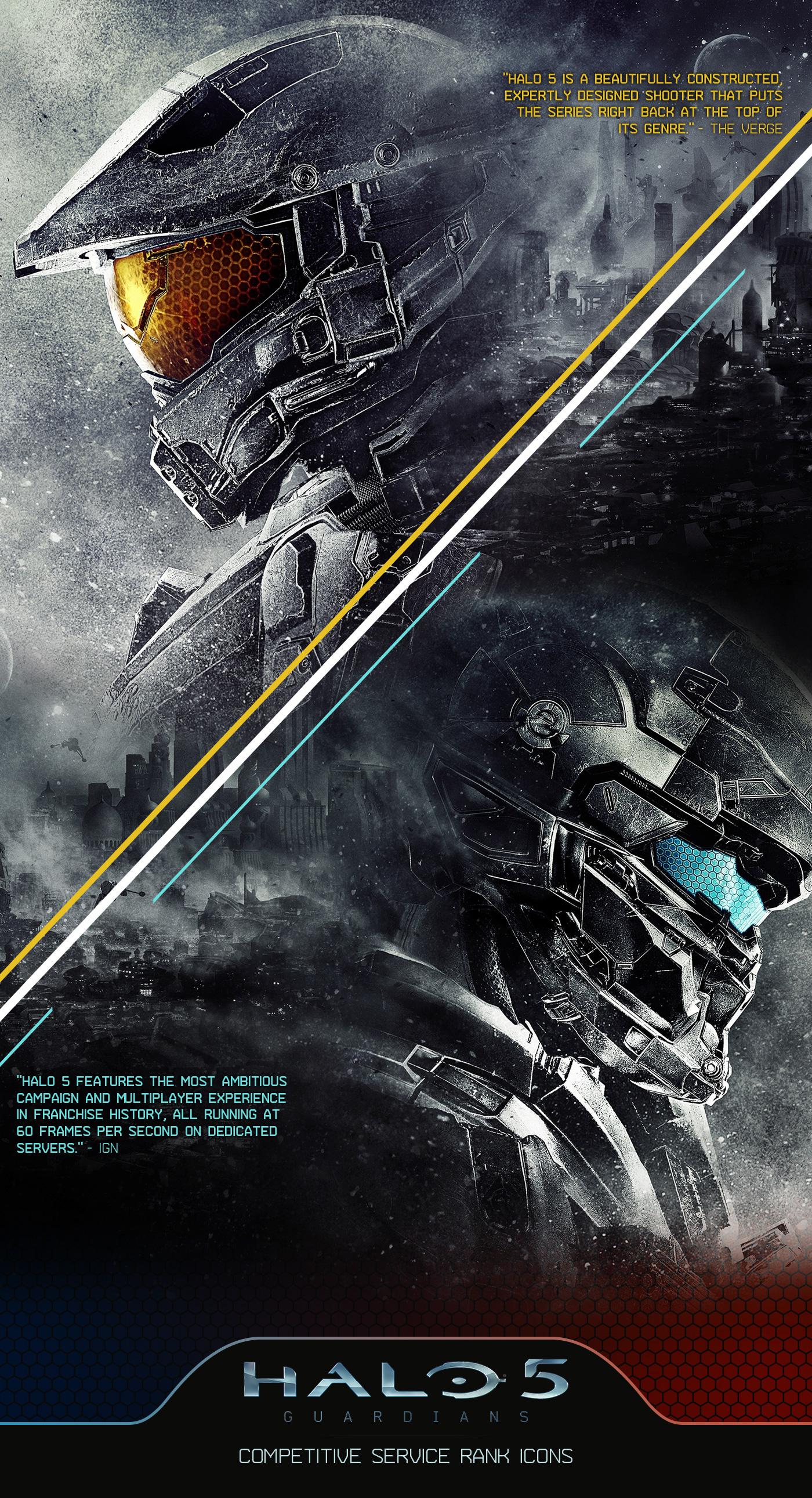 Halo 5: Guardians   CSR Icons on Behance
