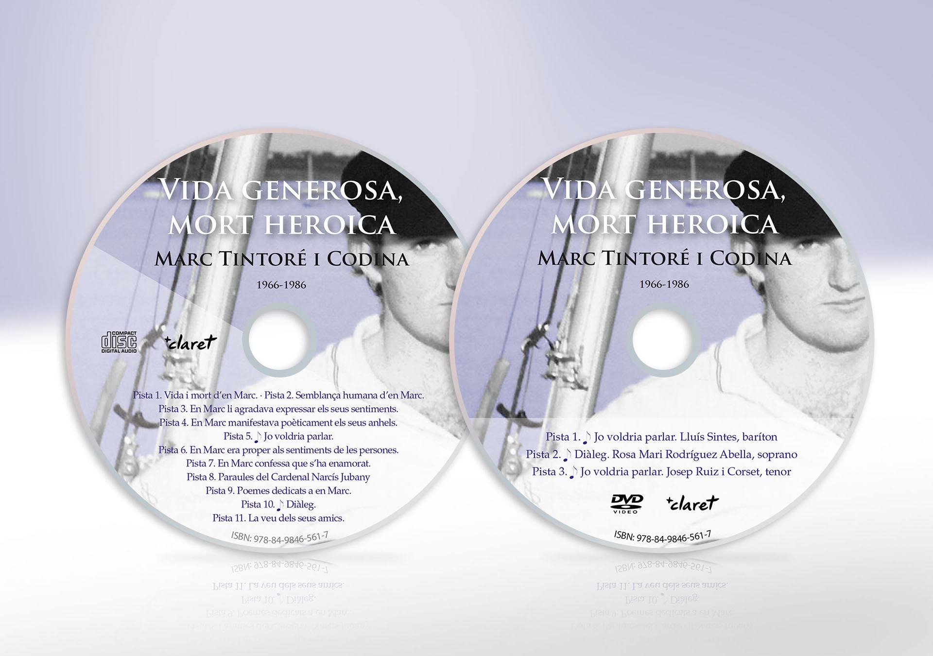 CD y DVD de Vida generosa, mort heroica