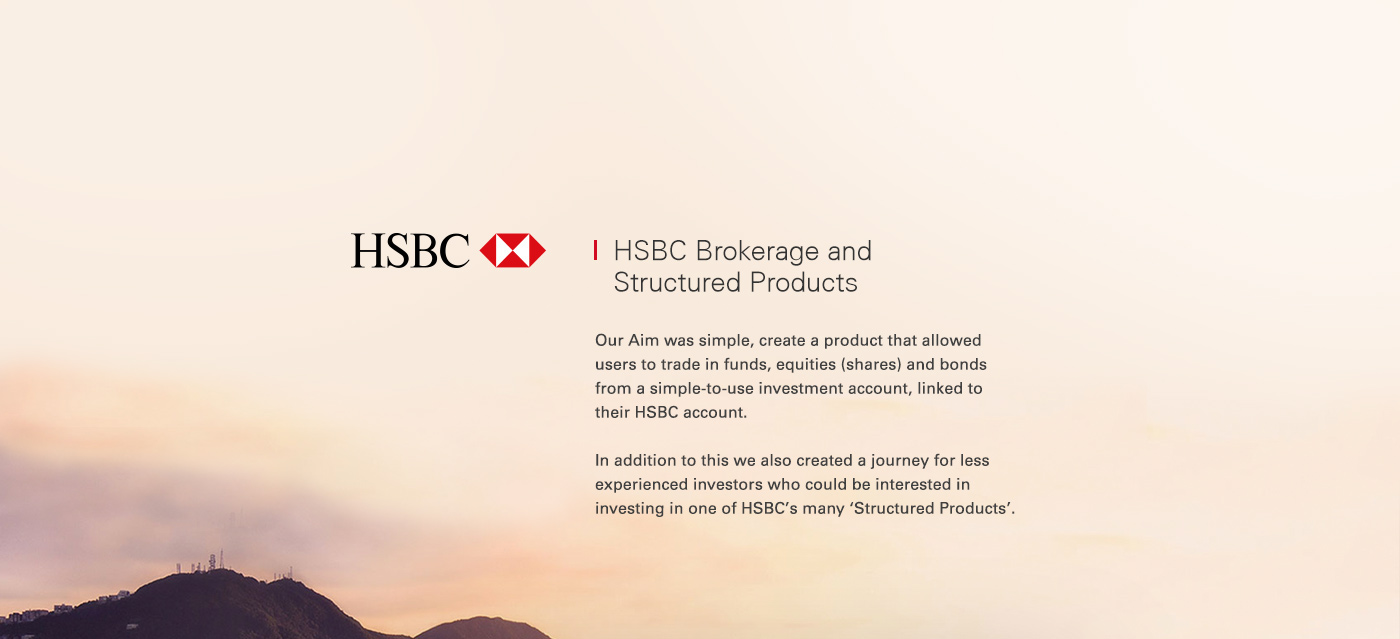 HSBC Brokerage and Structured Products on Behance