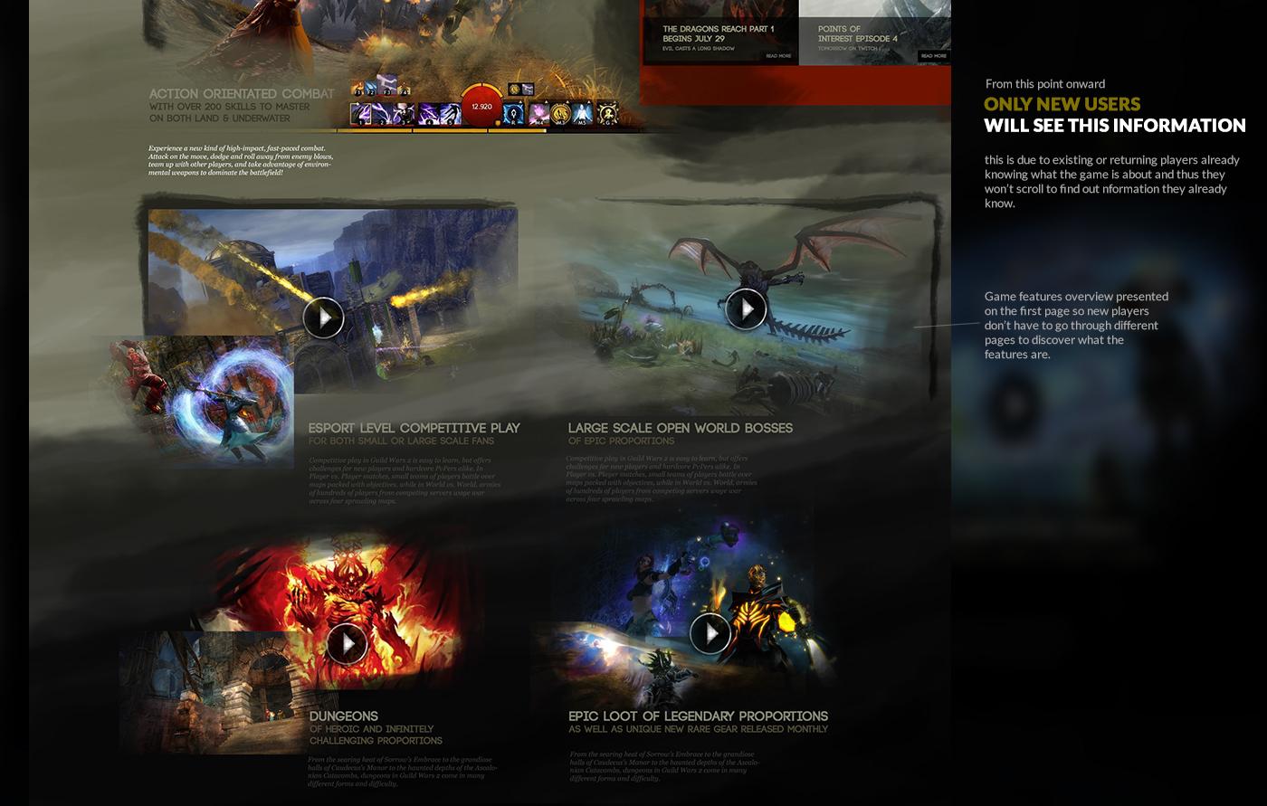 Guild Wars 2 - Massive UX UI redesign on Behance