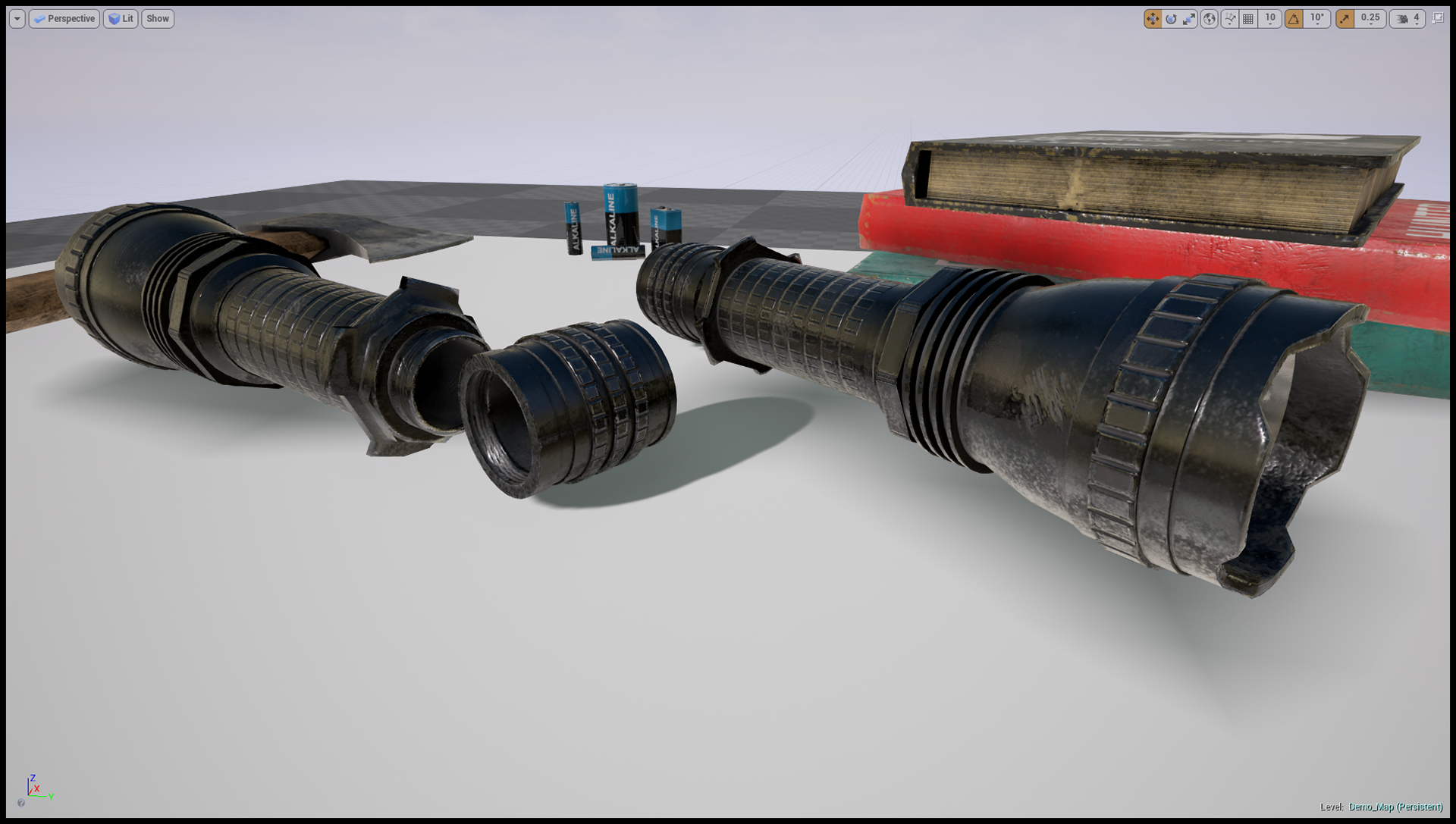 Realistic Survival Props Pack [Unity 5, UE4] on Behance
