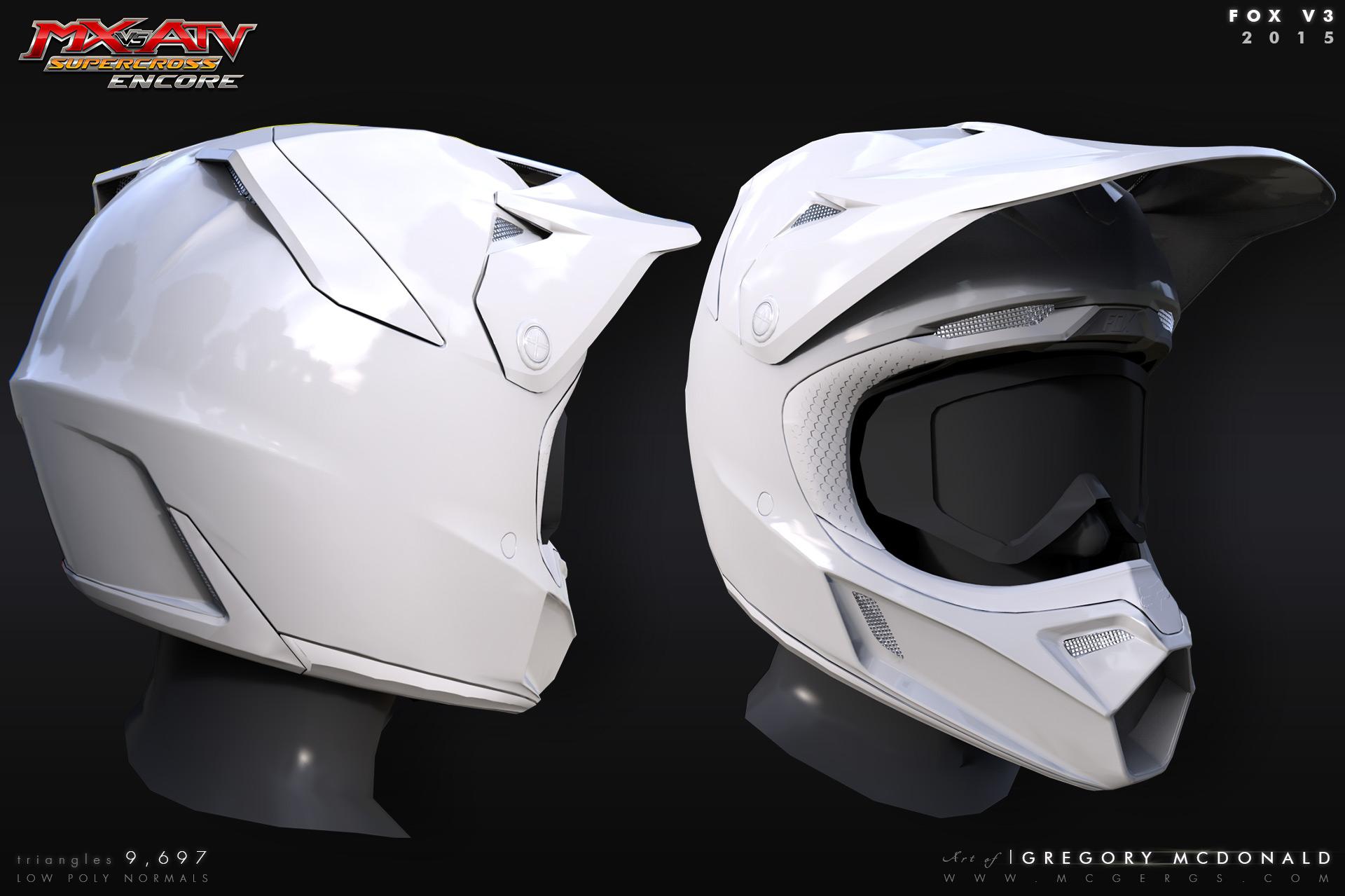 d4a3f5bb Fox V3 Racing Helmet on Behance