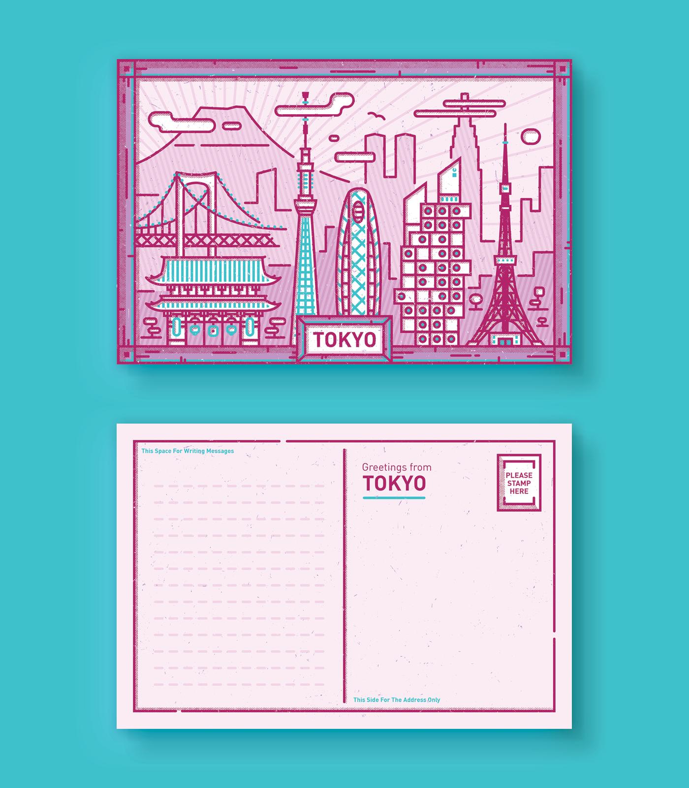 City Postcards on Behance