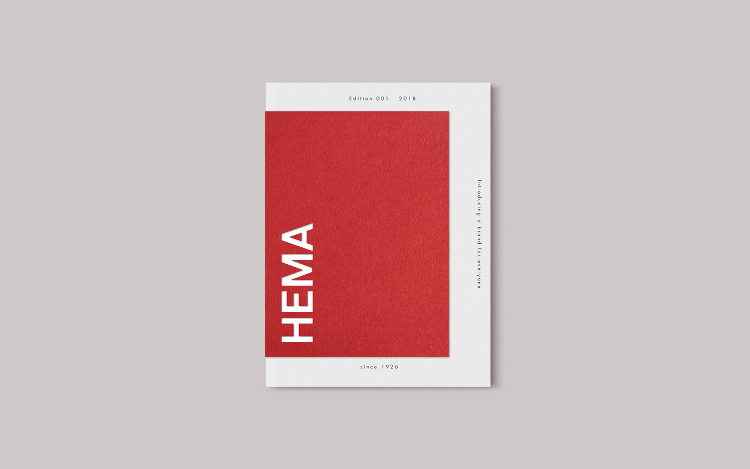 Hello HEMA Editorial Design on Behance