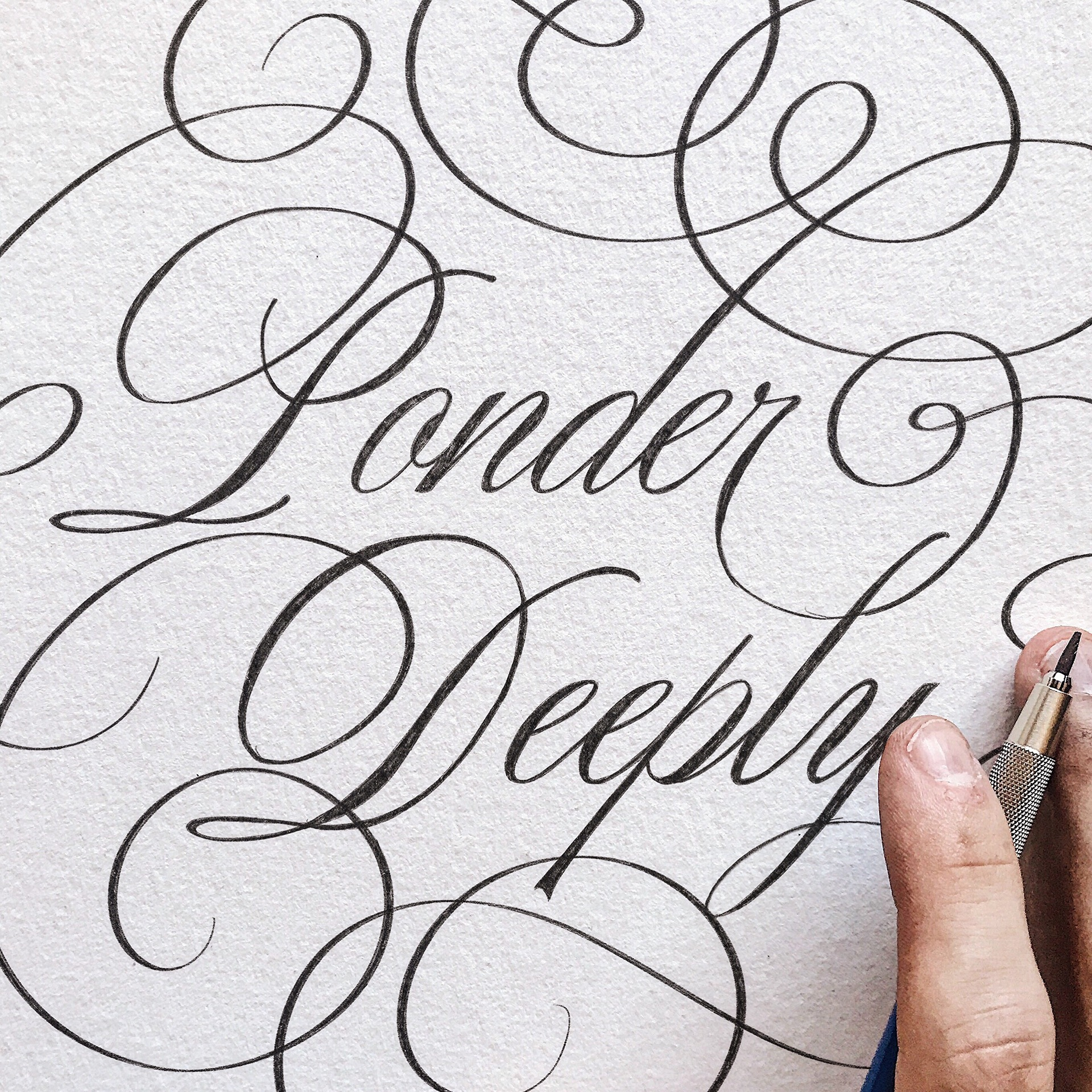 2017 Collection of Calligraphy & Lettering by Michael Moodie