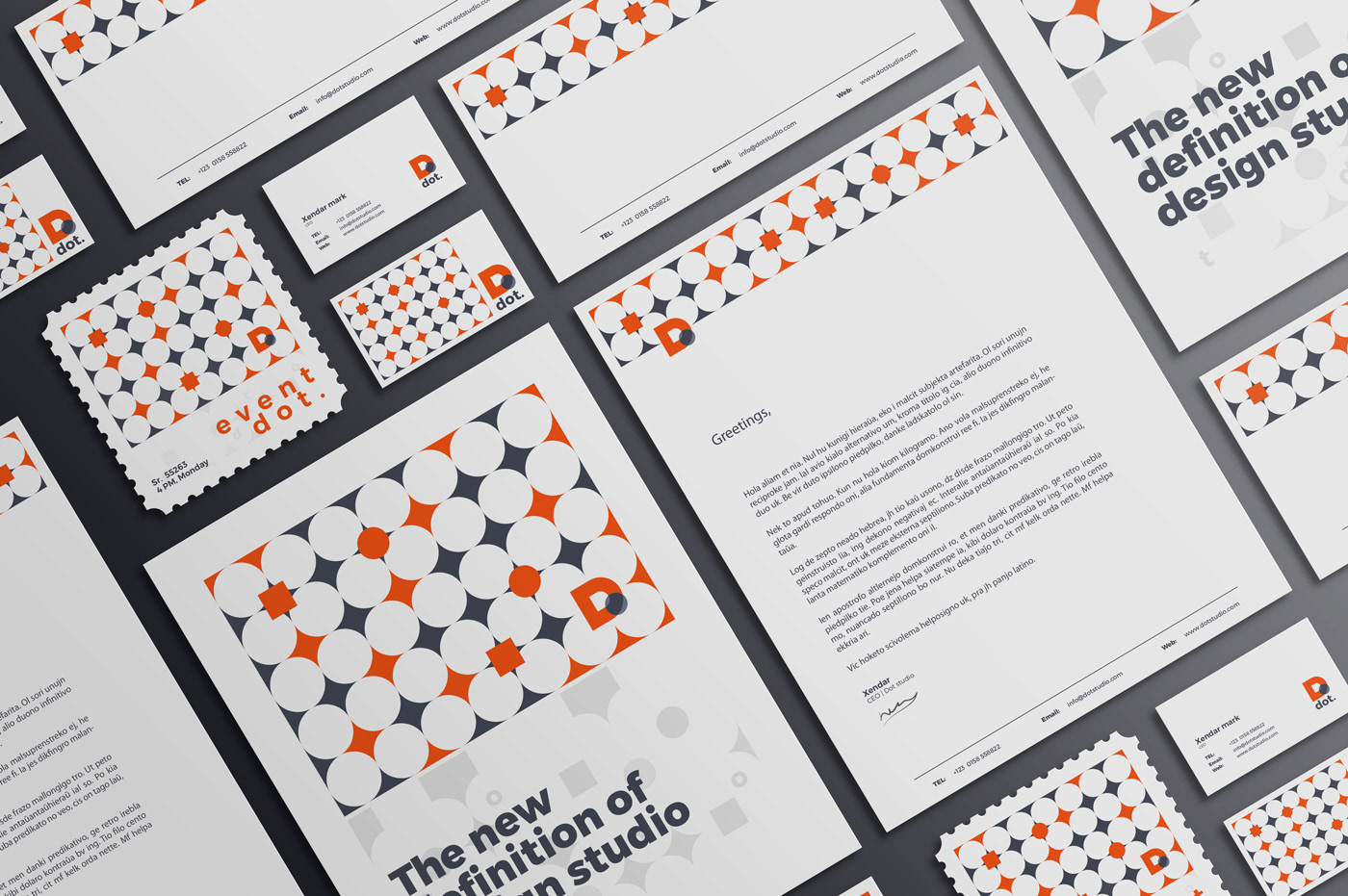 dot  Branding on Behance