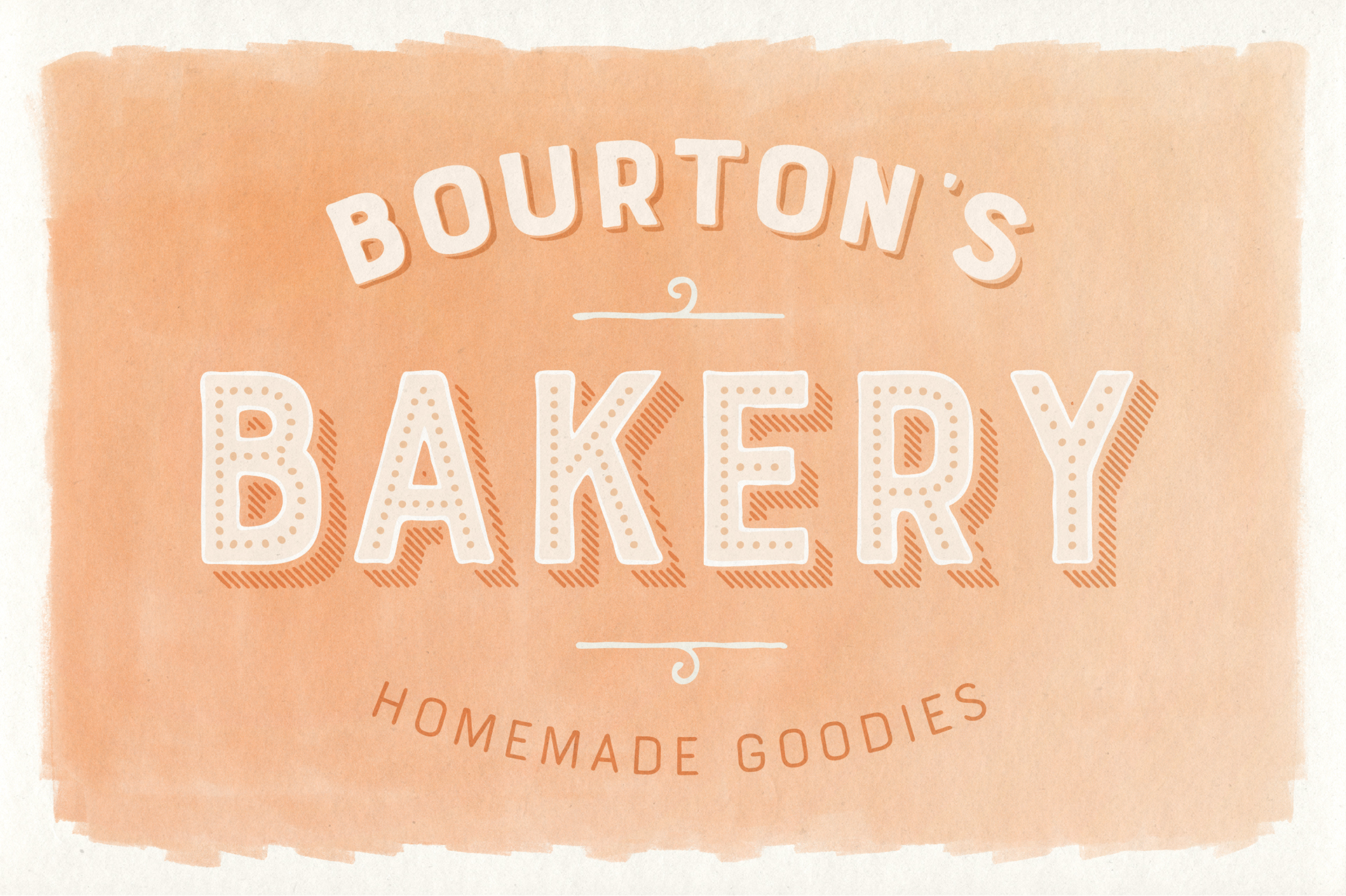 Bourton Hand Type Collection on Behance