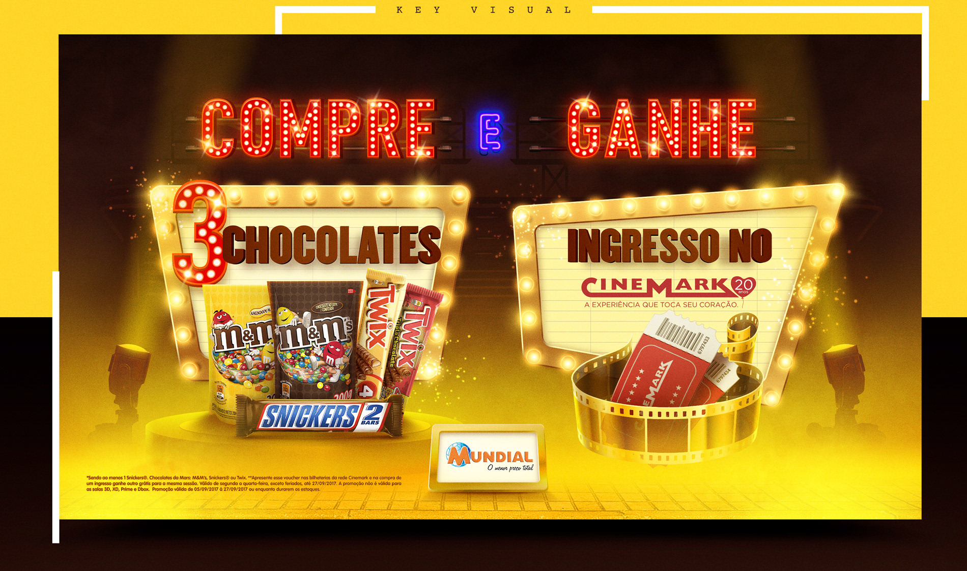 Mars & Cinemark • Promoção Grocery on Behance
