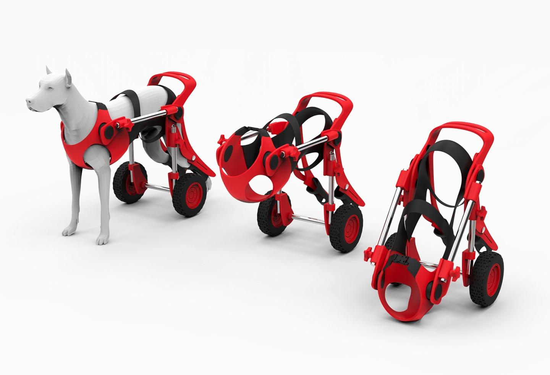 Dog wheelchair on Behance