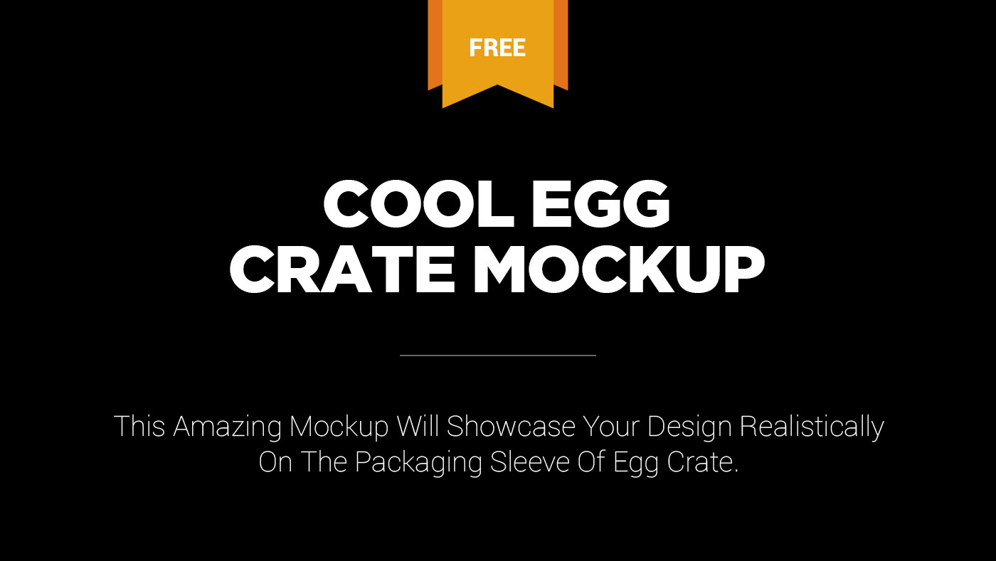 Free Egg Crate Mockup On Behance
