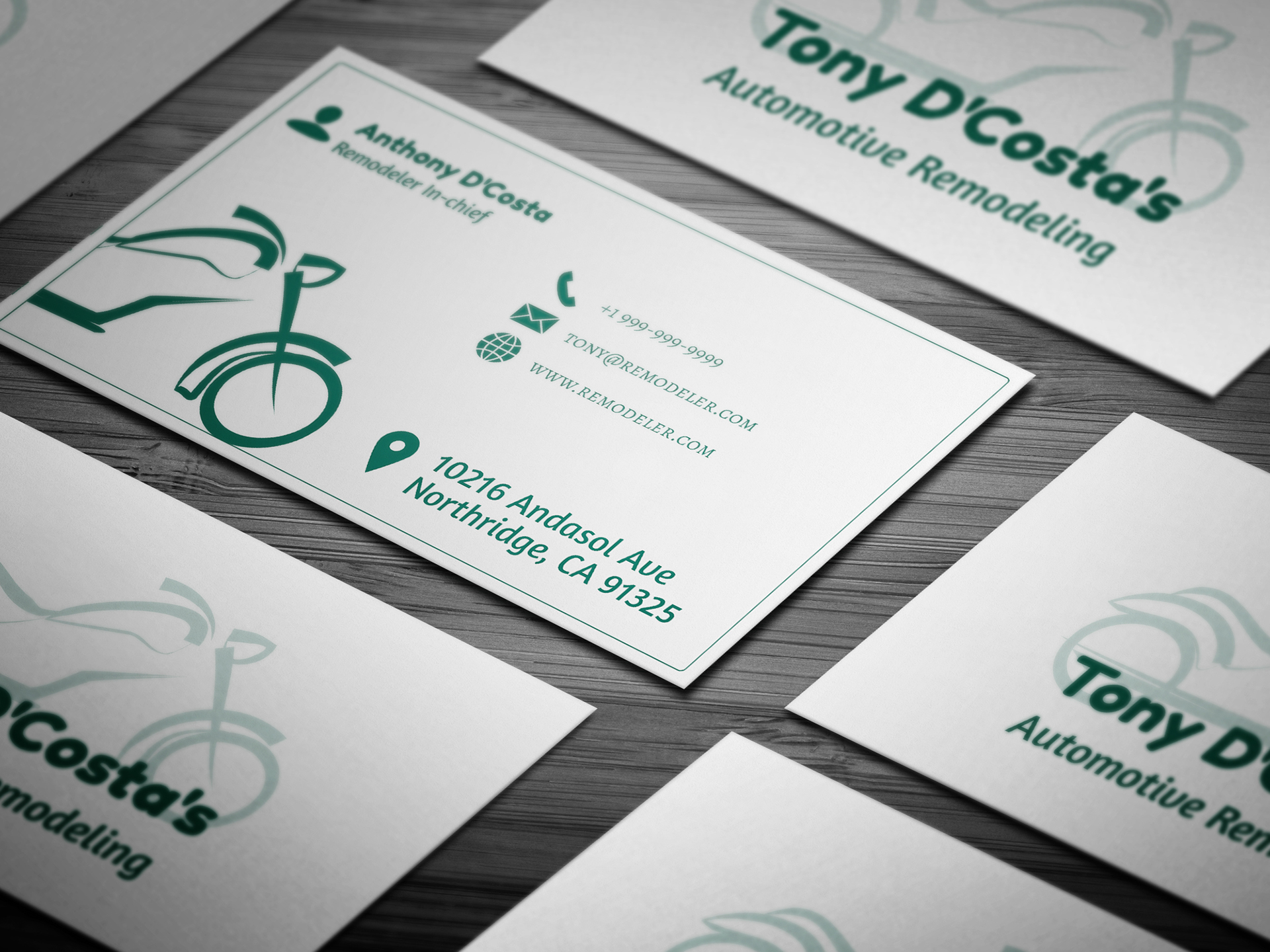 10 Free Automotive Business Card Templates On Behance