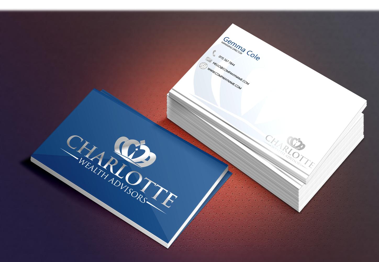 Ellis Rayner - Charlotte Wealth Advisors Business Card Design