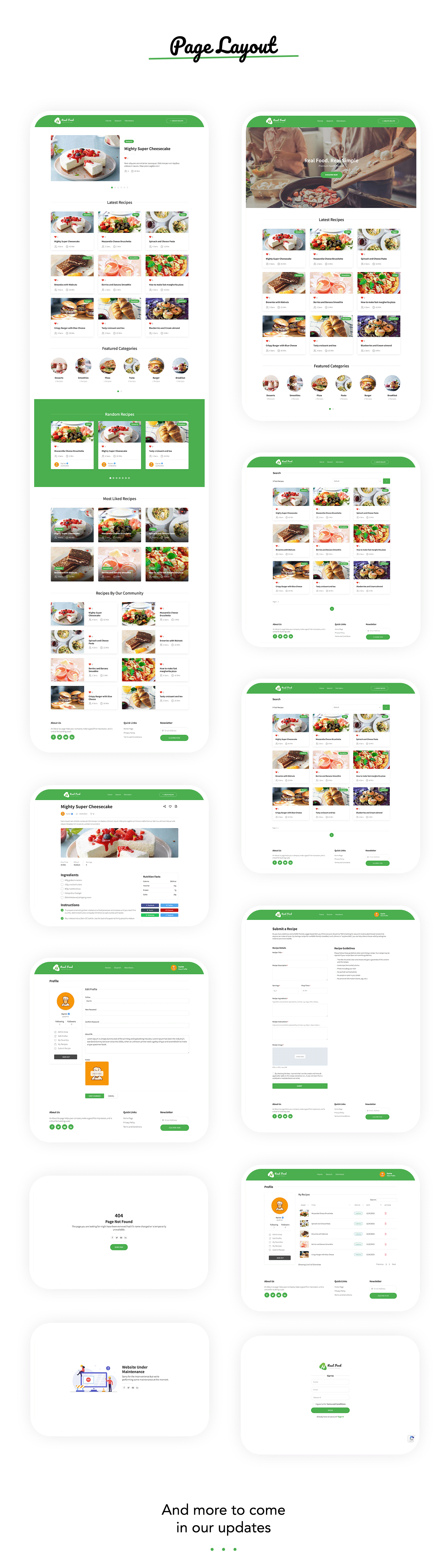 RealFood | The Ultimate PHP Recipes & Community Food - 6