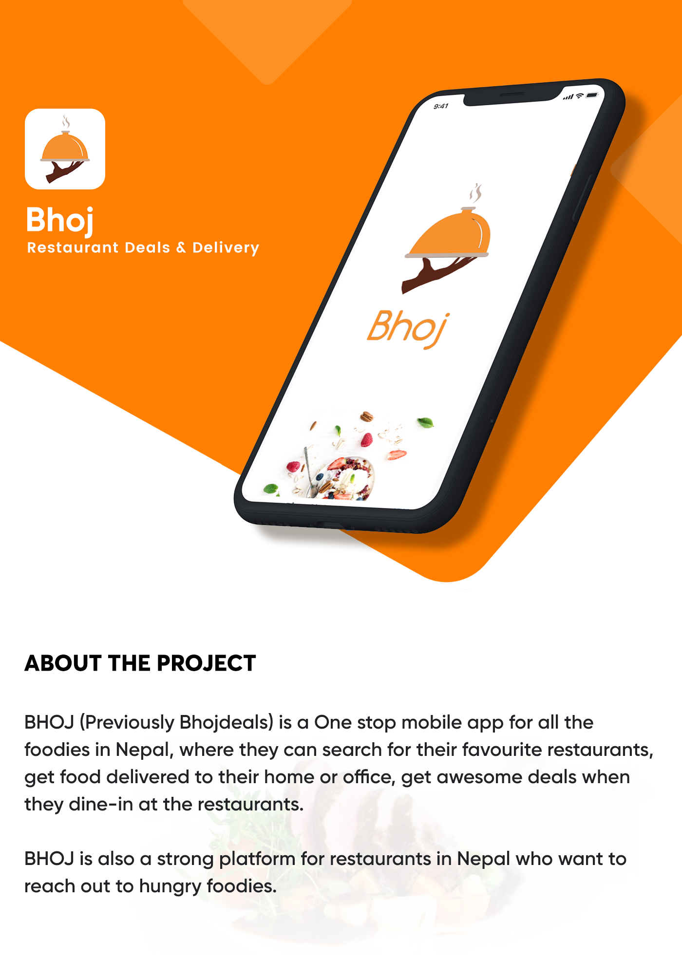 Deal and Delivery Restaurant App on Behance
