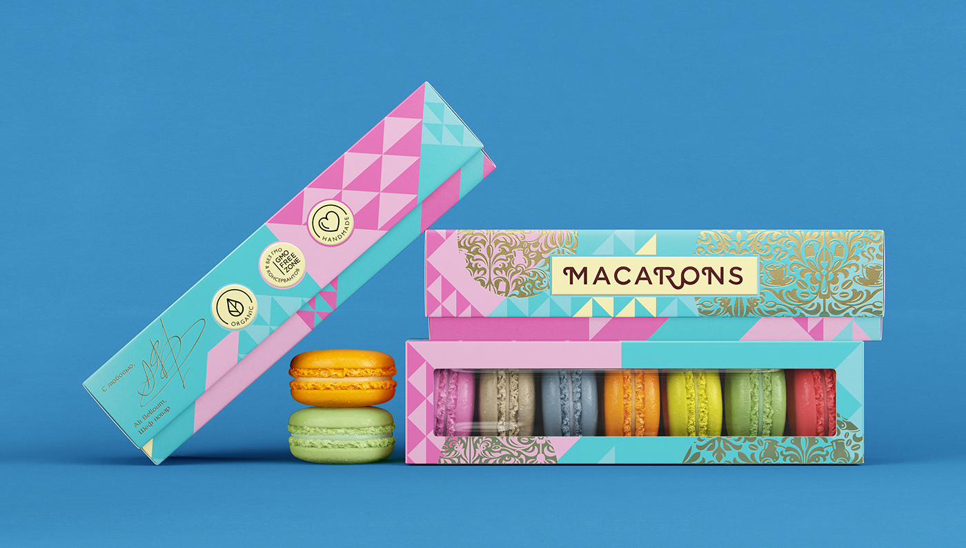 Packaging For Macarons Mixville sweets on behance sisterspd