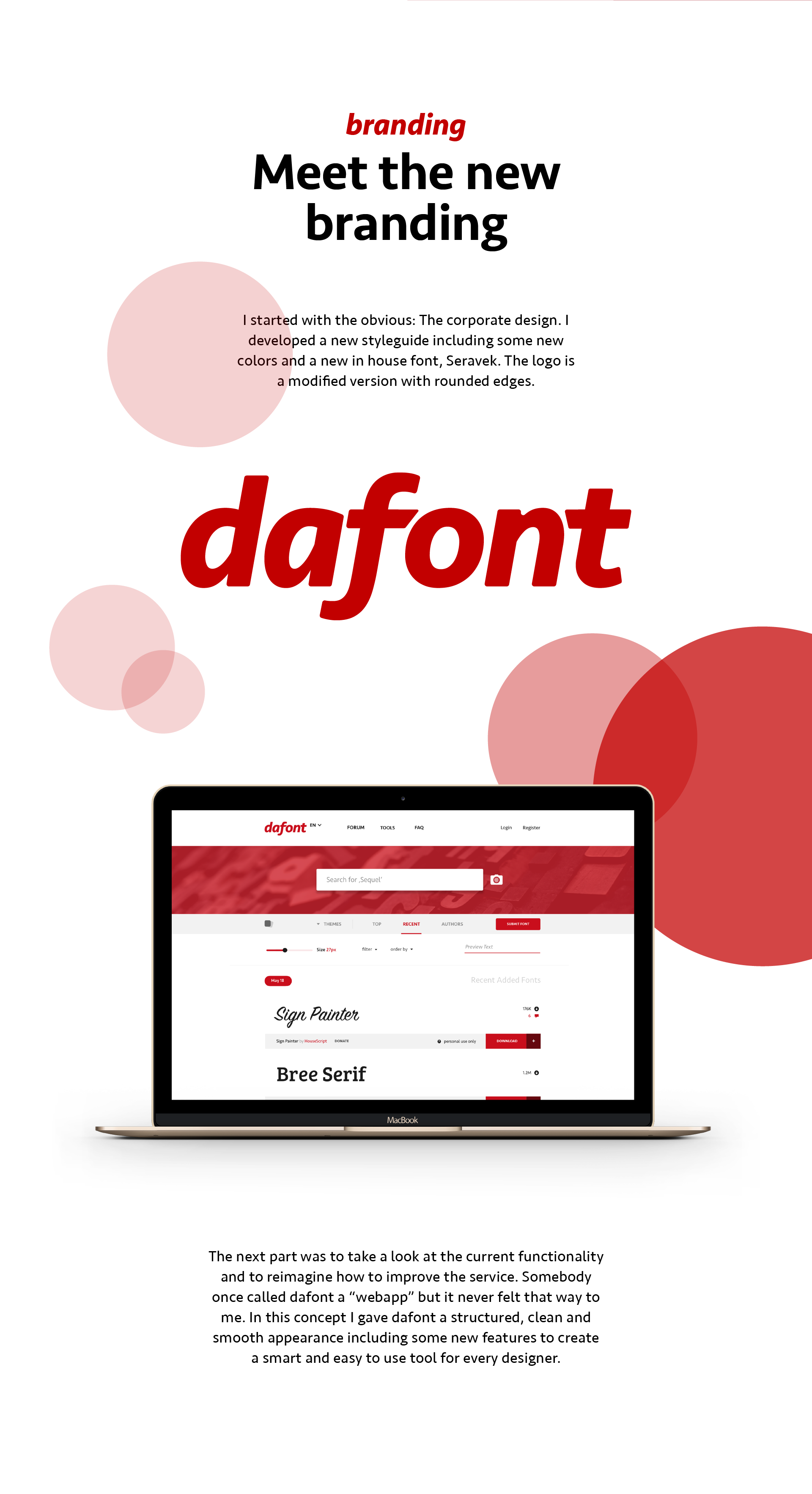 Dafont rebranding concept explore the future on behance ccuart Images