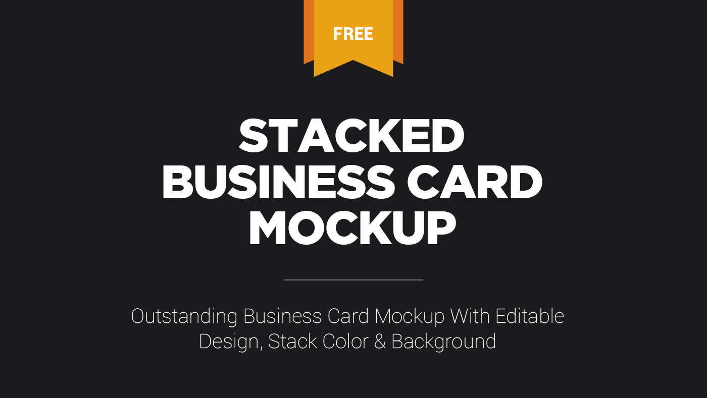Free stacked business card mockup on behance click here to download this high quality free business card psd mockup for photoshop reheart Choice Image