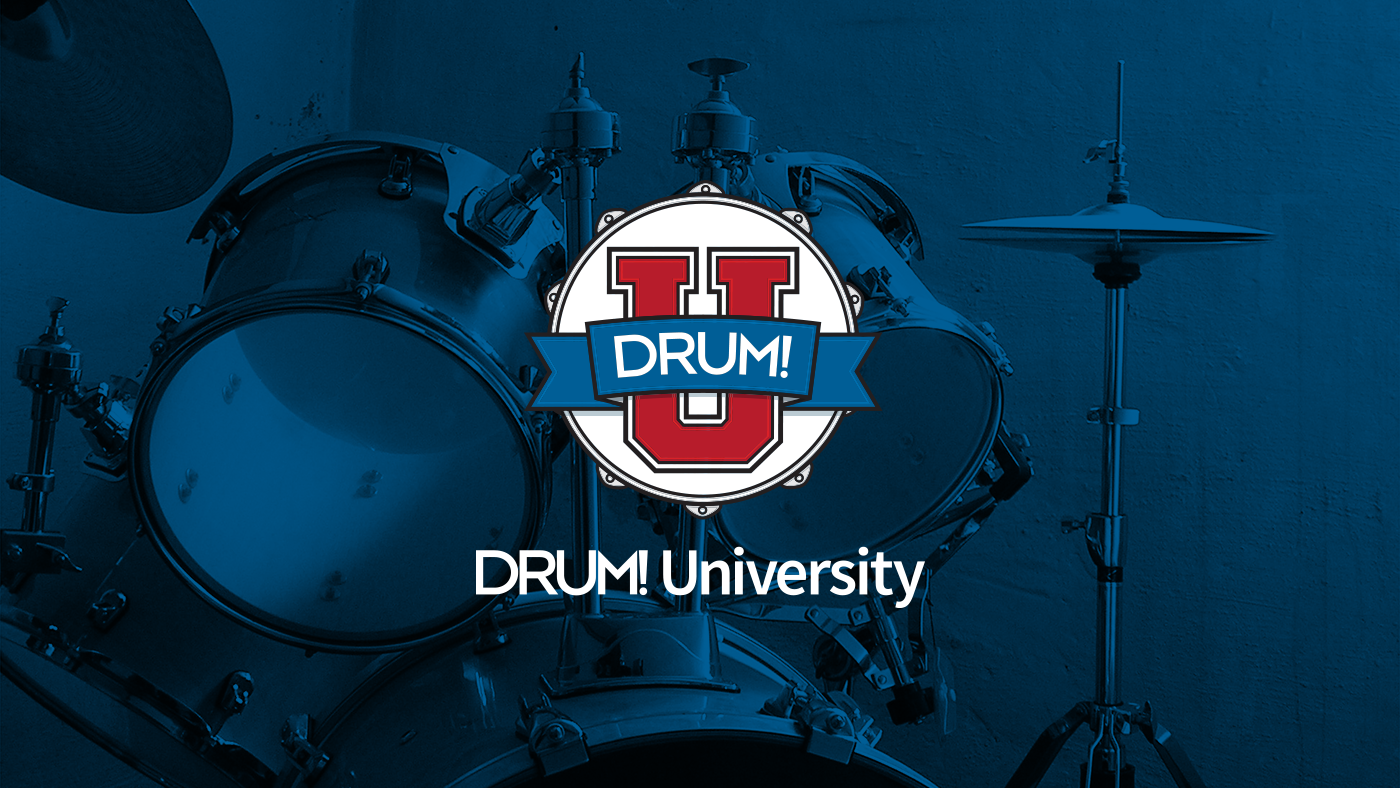 """Jazz drumming lesson with ralph peterson """"jazz drumming demystified""""."""