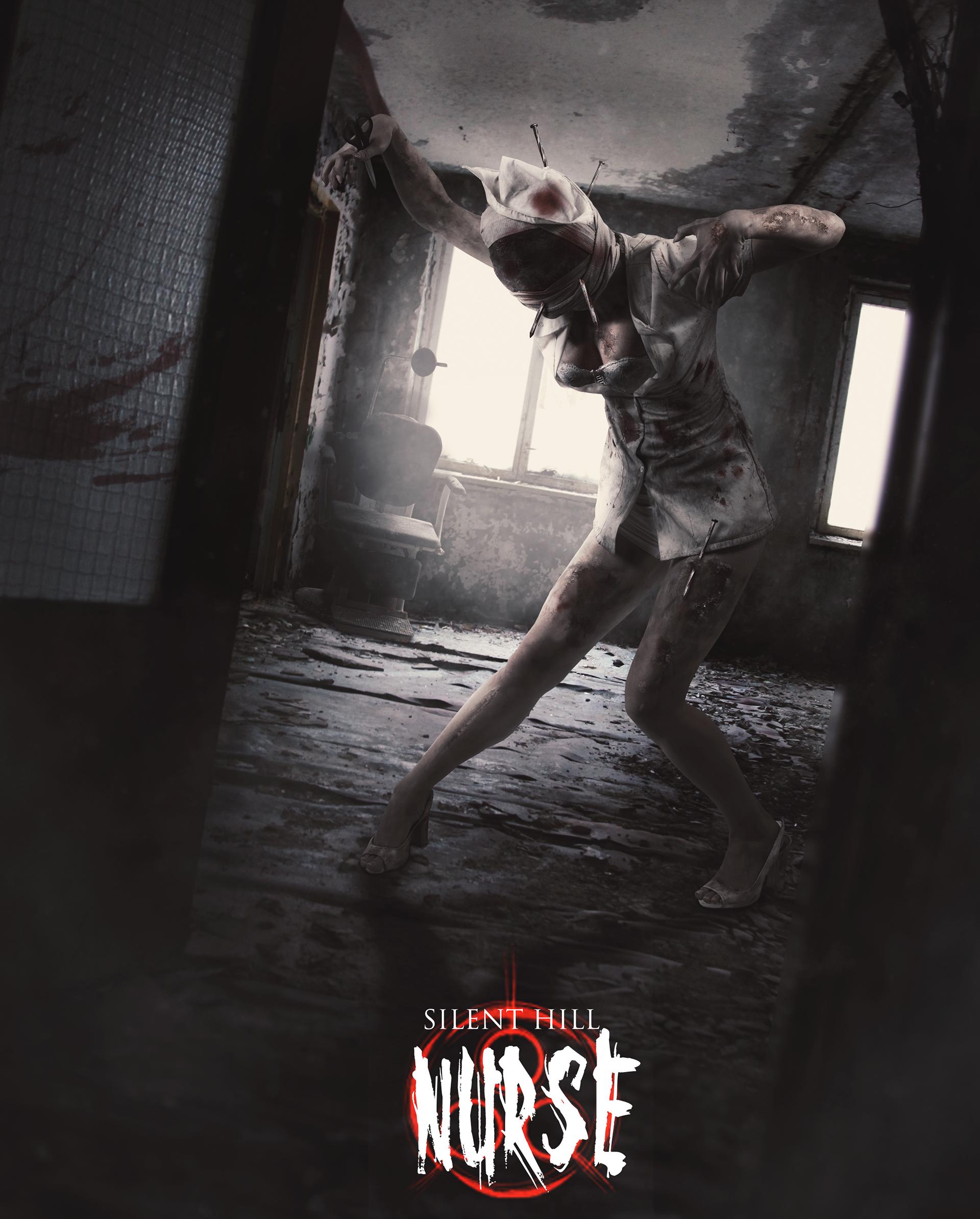 Silent Hill Concept Art Nurse On Behance