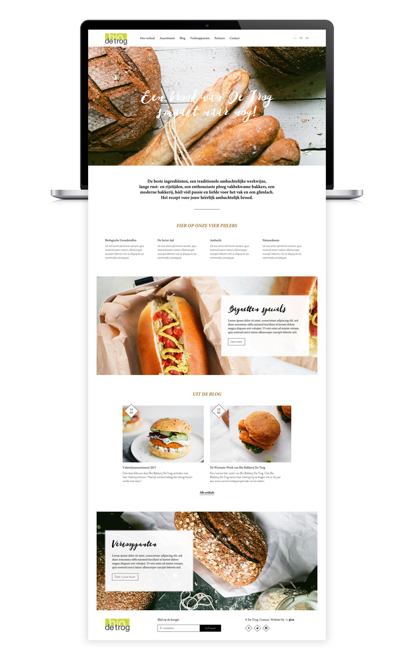 Bio De Trog Website Design On Behance