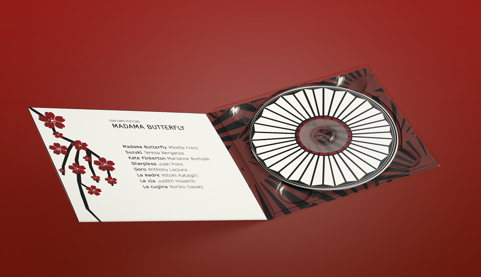 Madama Butterfly CD|DVD Cover on Behance