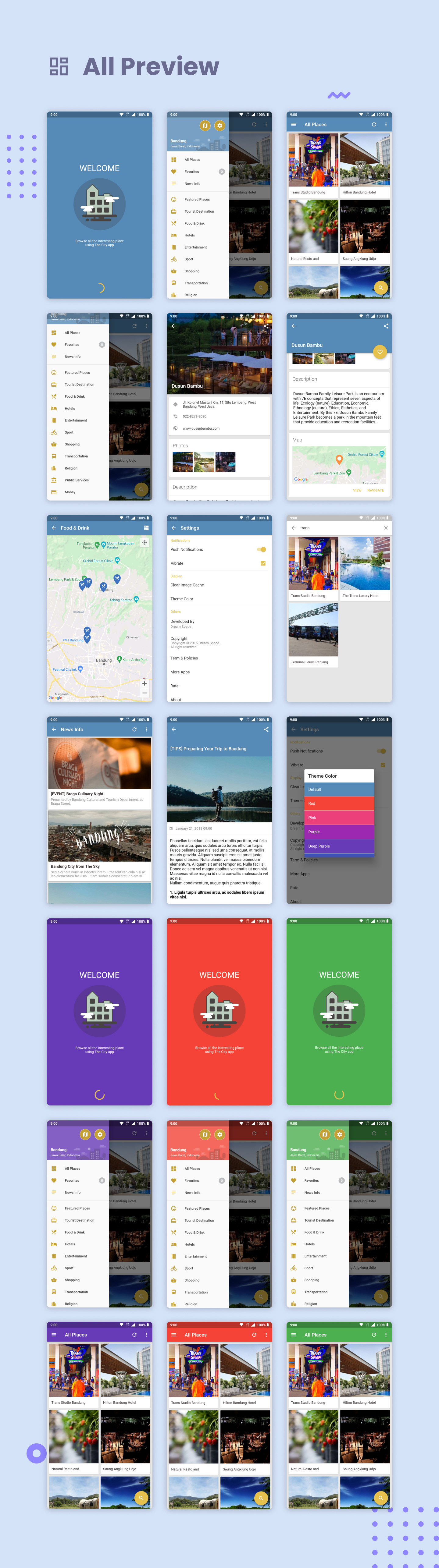 The City Flutter - Place App with Backend 1.0 - 8